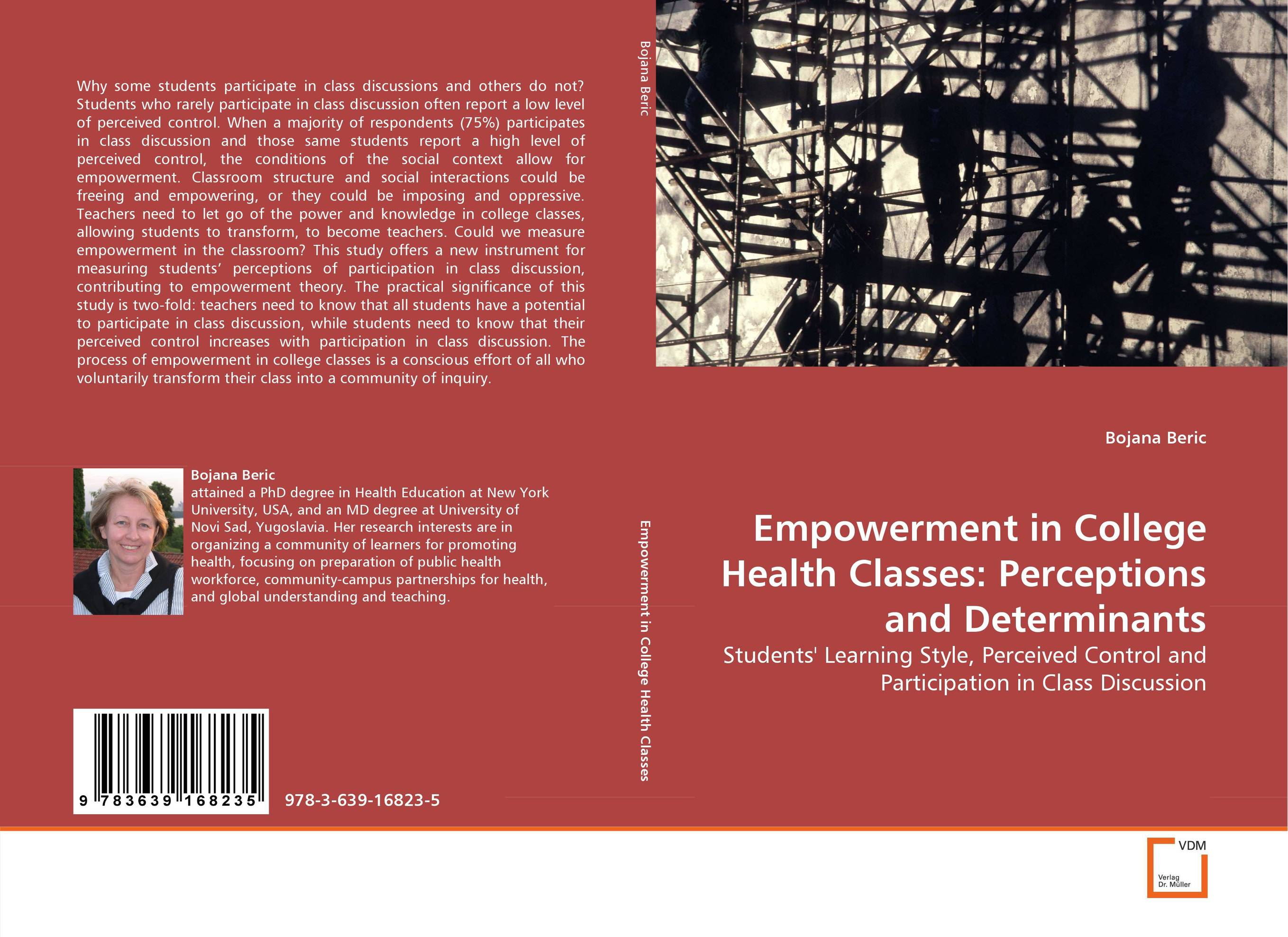 Empowerment in College Health Classes: Perceptions and Determinants teachers' perceptions of the teacher evaluation instrument and process