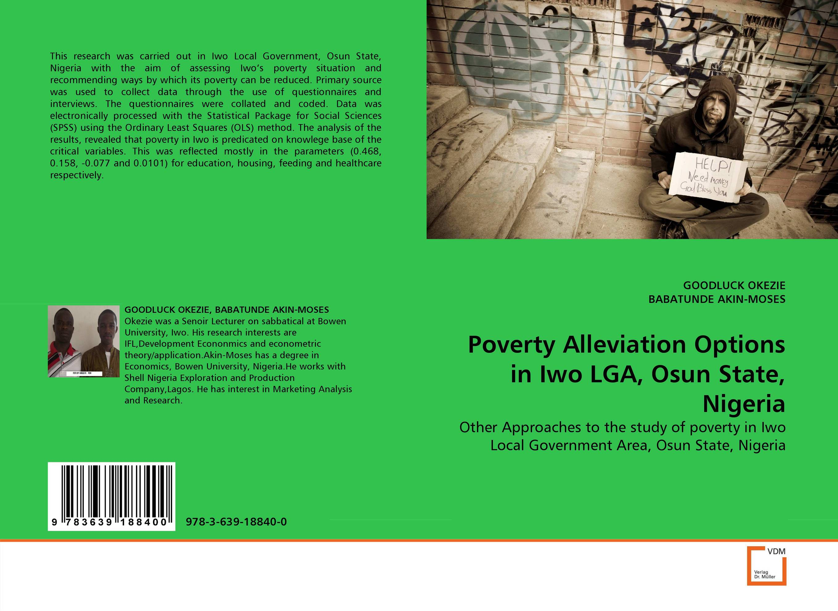 Poverty Alleviation Options in Iwo LGA, Osun State, Nigeria local government budgeting and poverty alleviation in rwanda