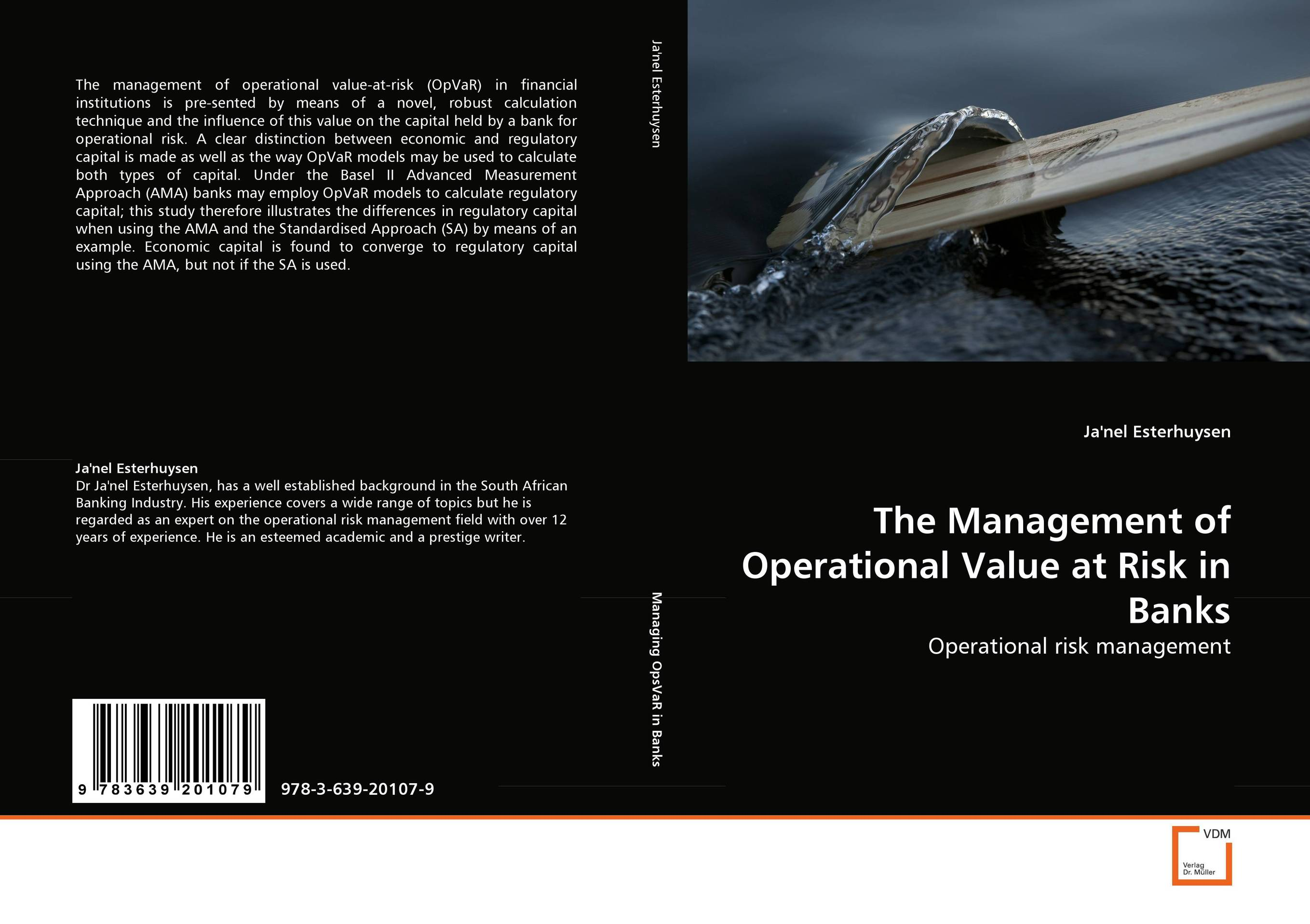The Management of Operational Value at Risk in Banks sim segal corporate value of enterprise risk management the next step in business management