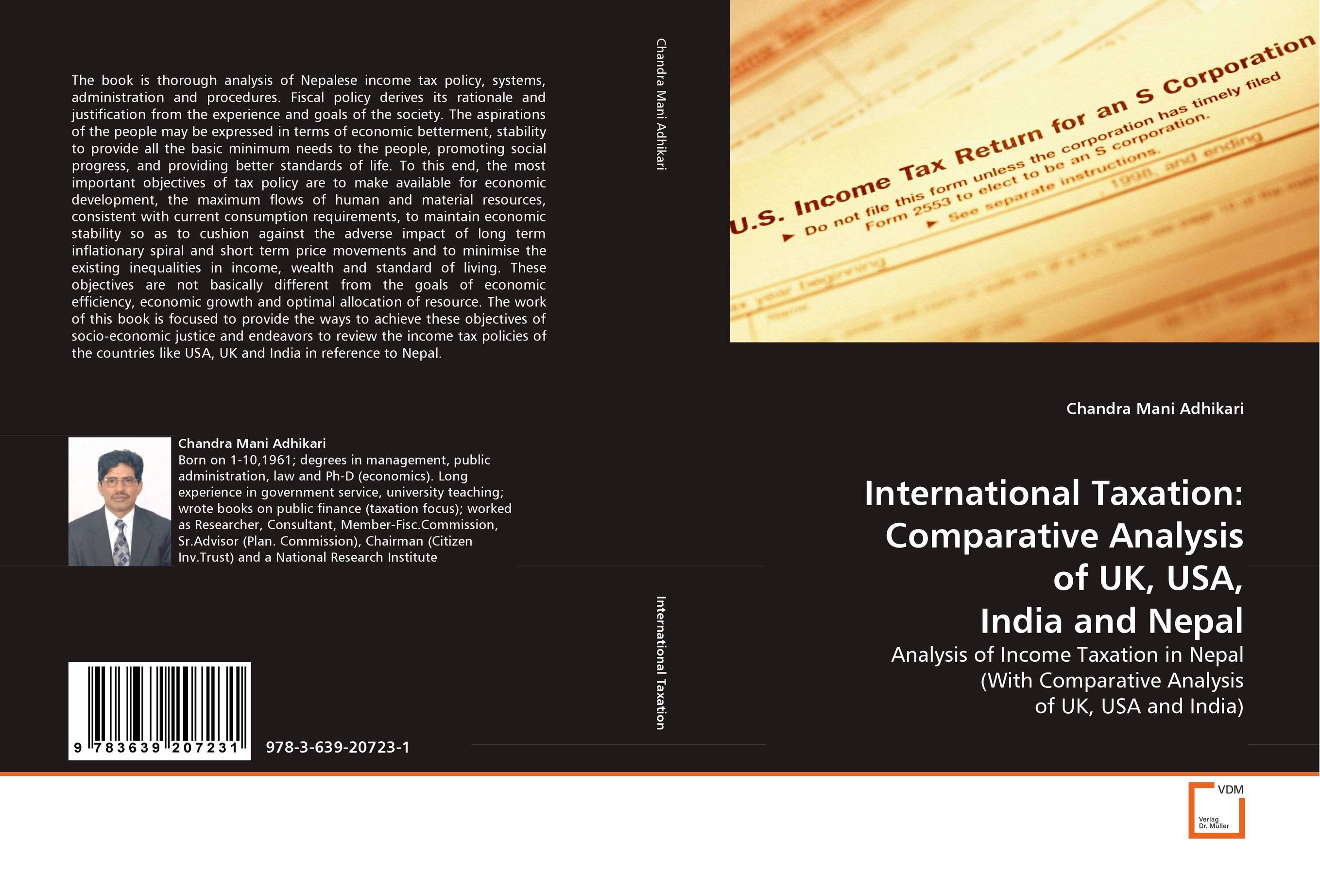 International Taxation: Comparative Analysis of UK, USA, India and Nepal kenneth rosen d investing in income properties the big six formula for achieving wealth in real estate