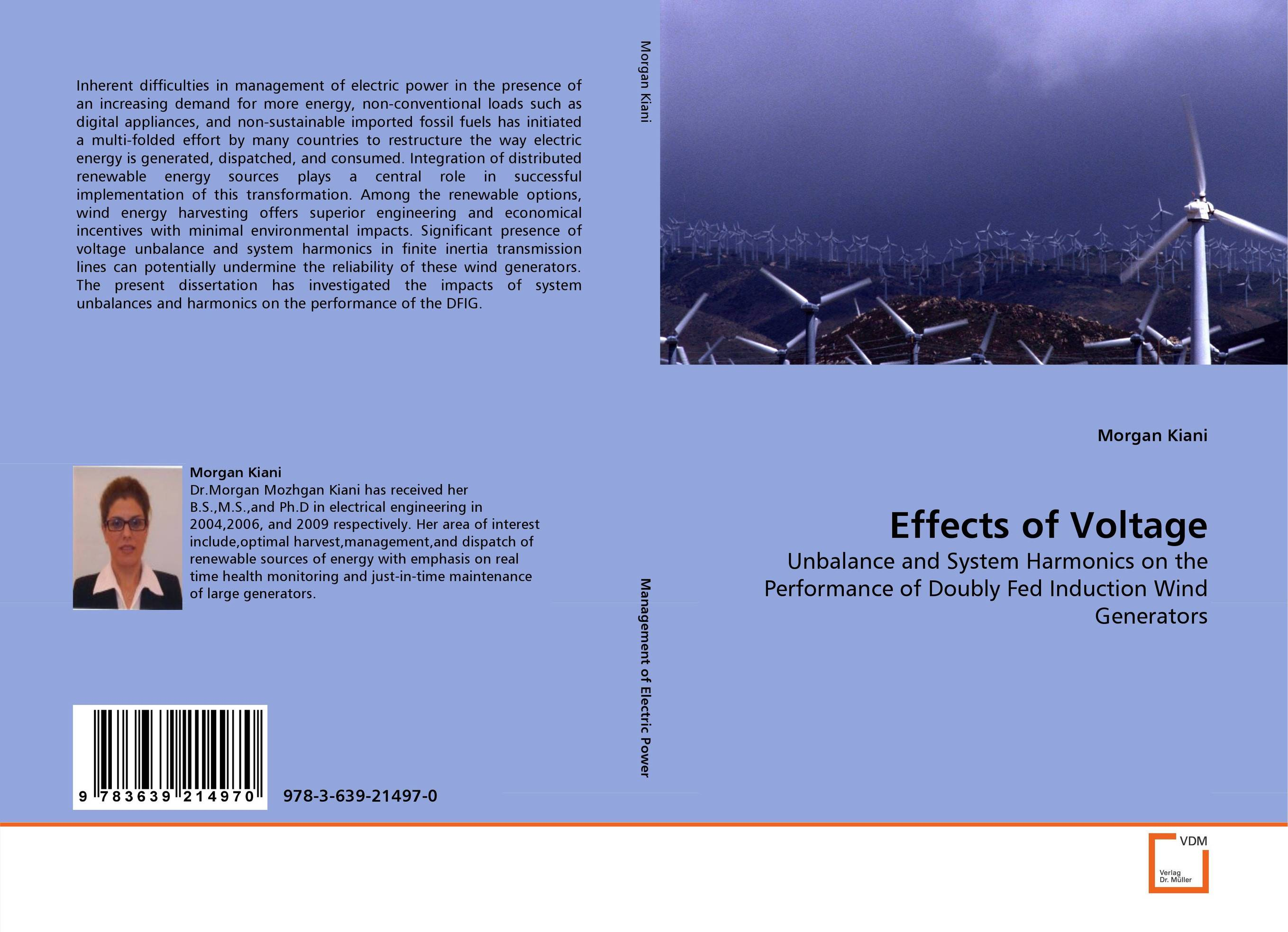 Effects of Voltage wind energy generation modeling for planning of electric power system