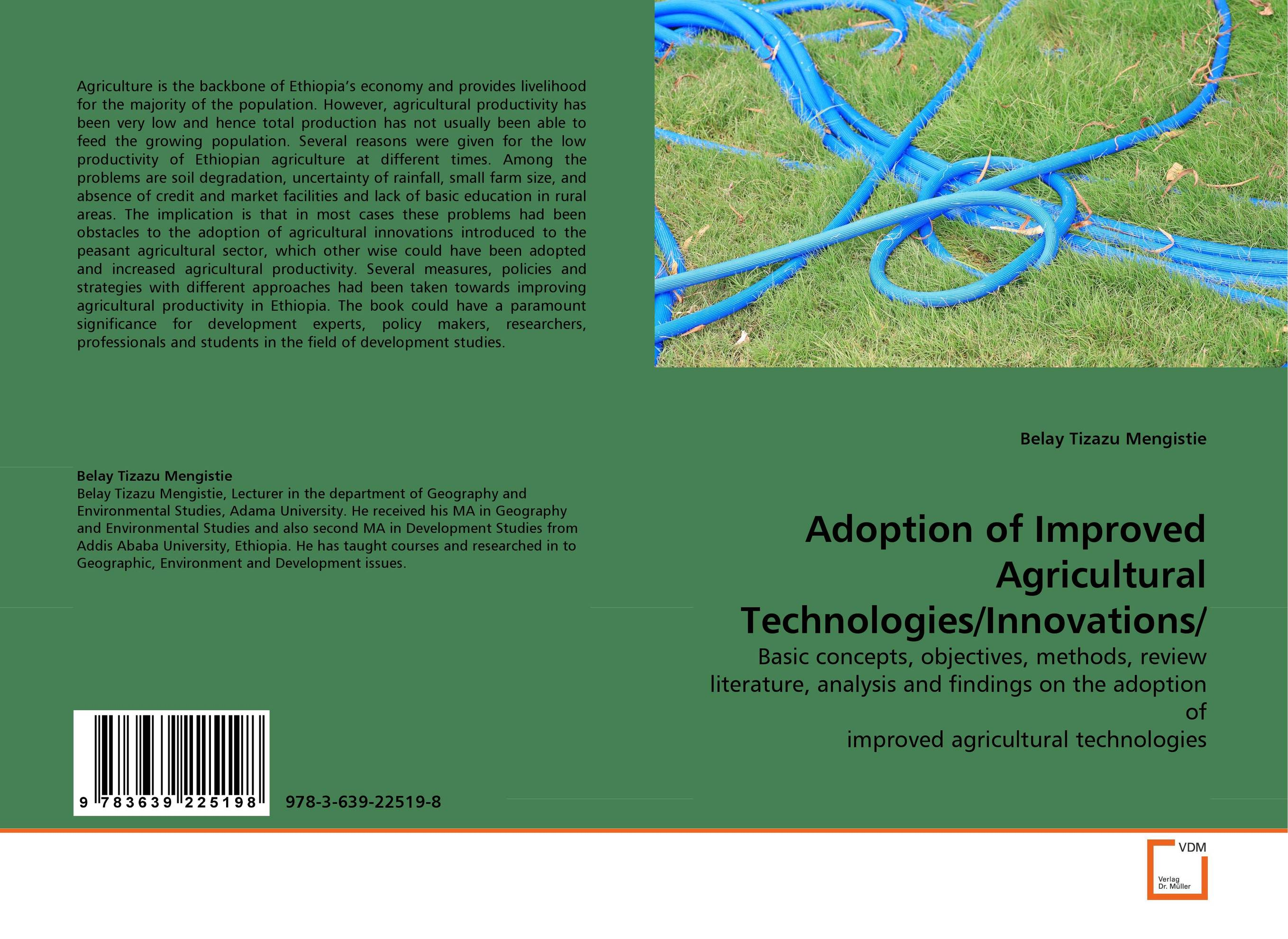 Adoption of Improved Agricultural Technologies/Innovations/ farm level adoption of water system innovations in semi arid areas