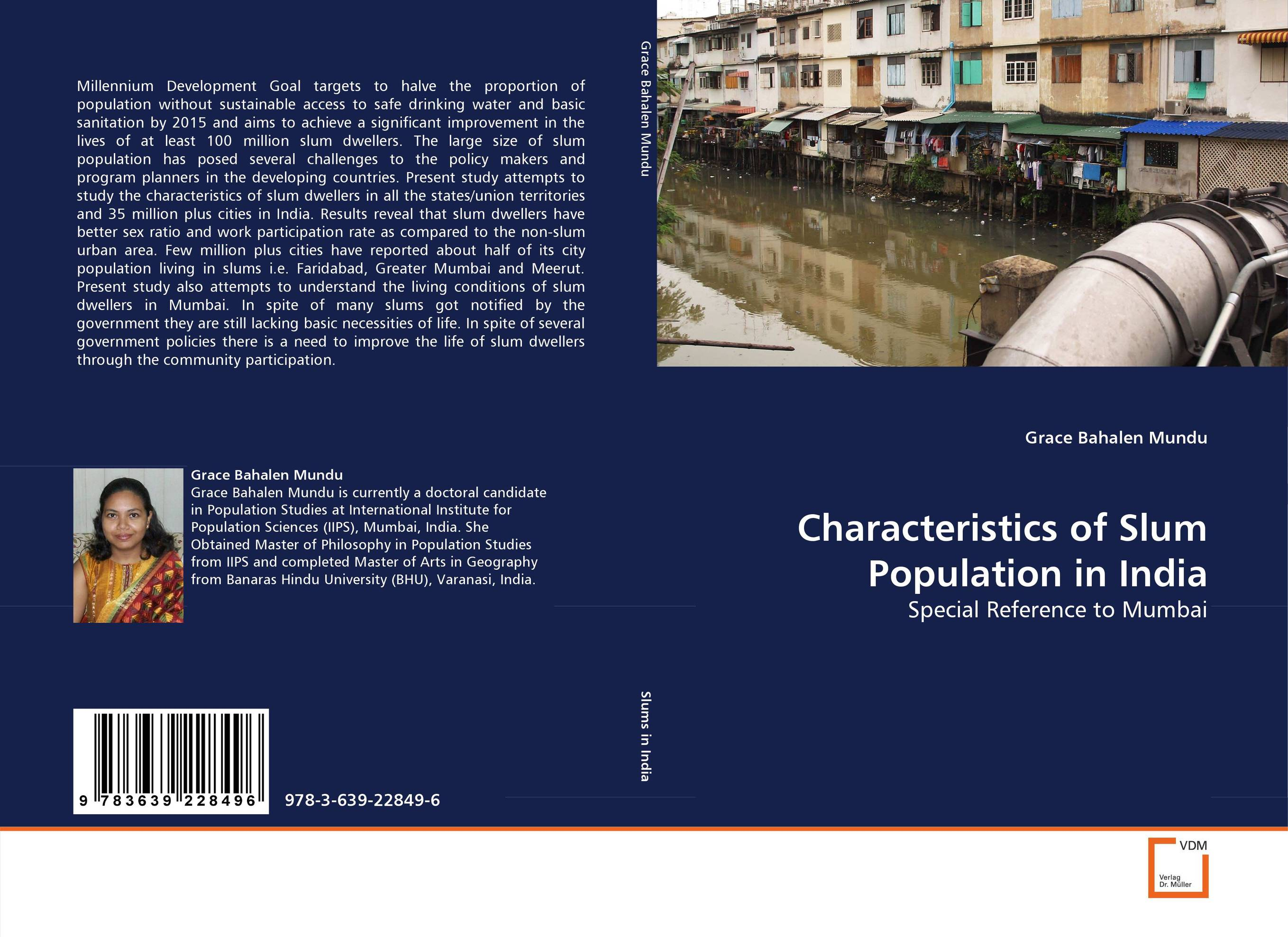 Characteristics of Slum Population in India slum upgrading and its contribution to environment sustainability