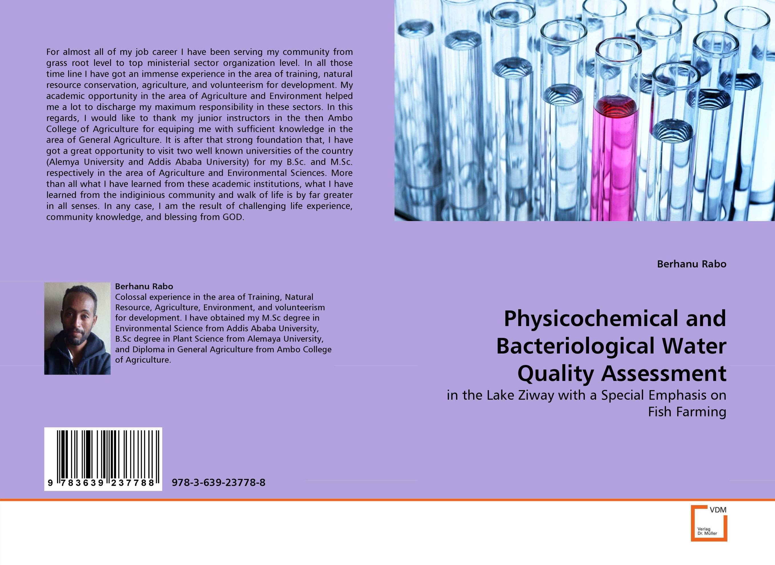 Physicochemical and Bacteriological Water Quality Assessment купить