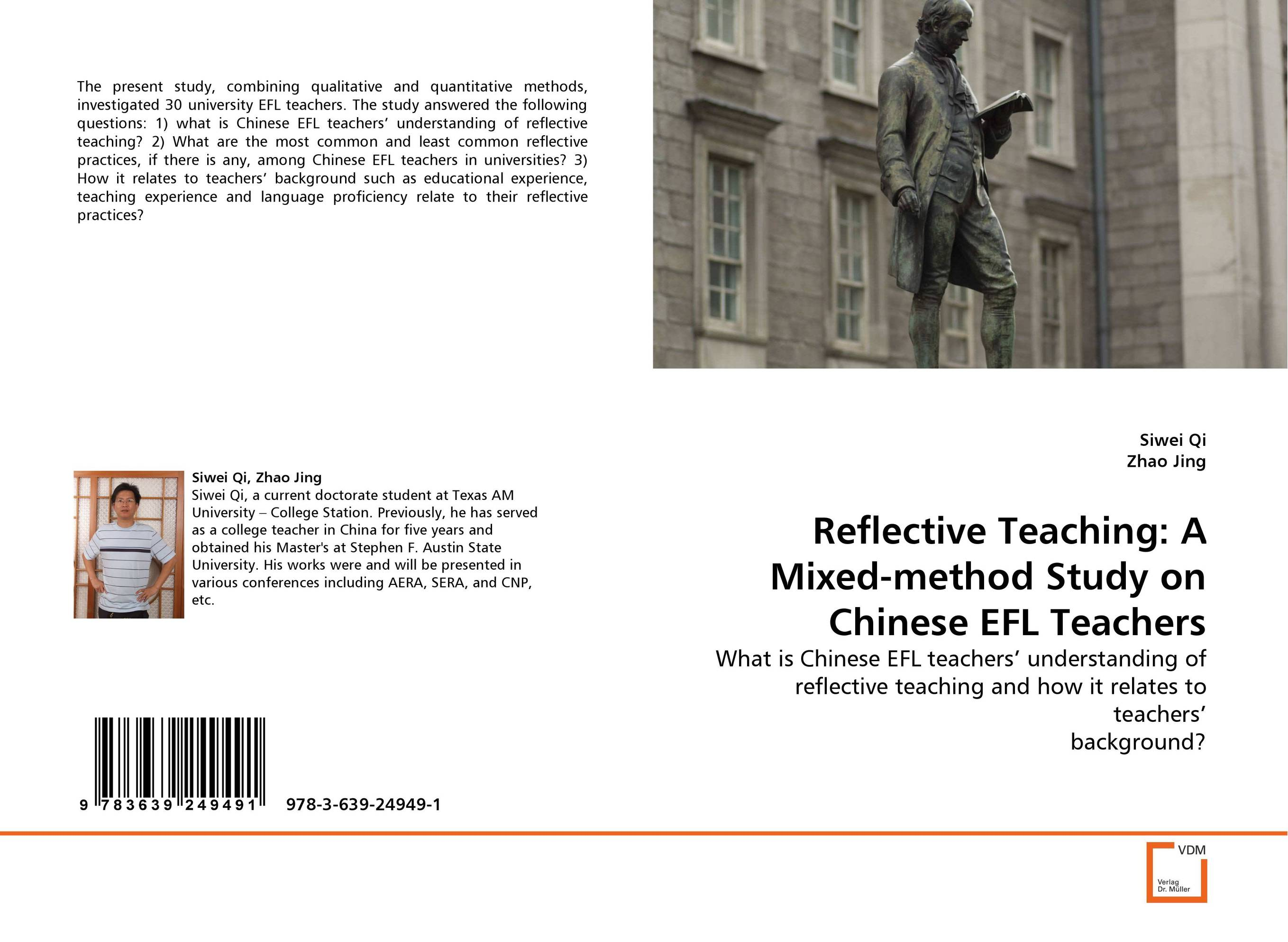 Reflective Teaching: A Mixed-method Study on Chinese EFL Teachers rakesh kumar tiwari and rajendra prasad ojha conformation and stability of mixed dna triplex