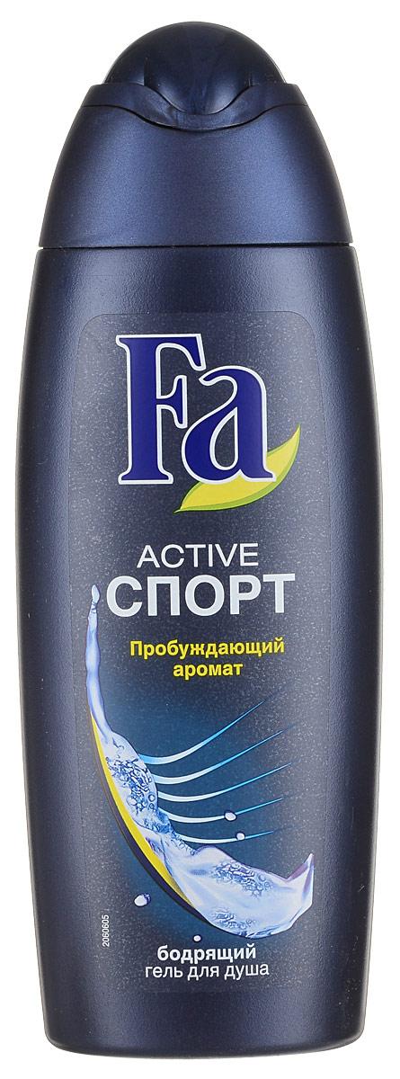 FA MEN Гель для душа ACTIVE Спорт, 250 мл12052670- Ухаживающая формула, заряжающая кожу энергией- Насыщенный, придающий энергию аромат - Подходит для ежедневного использования в качестве шампуня.Хорошая переносимость кожей подтверждена дерматологами. Применение: нанести на влажную кожу, вспенить и смыть.Также откройте для себя антиперспиранты Fa MEN.Более подробную информацию можно найти на сайте:http://www.ru.fa.com/fa-men/ru/ru/home/duschgel/sport/showergel-active-sport.html