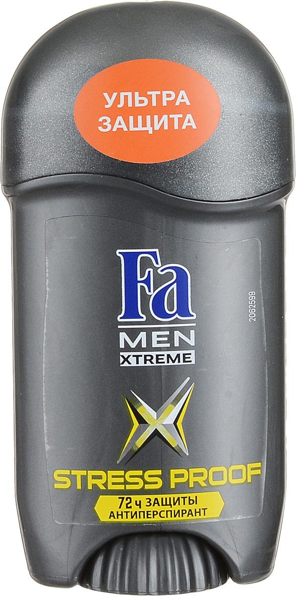 Fa Men Дезодорант-стик Xtreme Activated Stress Proof, мужской, 50 мл12126551Fa Men Xtreme Activated Stress Proof - надежная защита даже в самых стрессовых ситуациях! Благодаря уникальной технологии део-защита начинает работать во время выработки адреналина. 72 часа высокоэффективной защиты против влажности и запаха пота. 0% спирта. Дерматологически протестировано. Характеристики:Объем: 50 мл. Артикул: 1812652. Производитель: Германия. Товар сертифицирован.