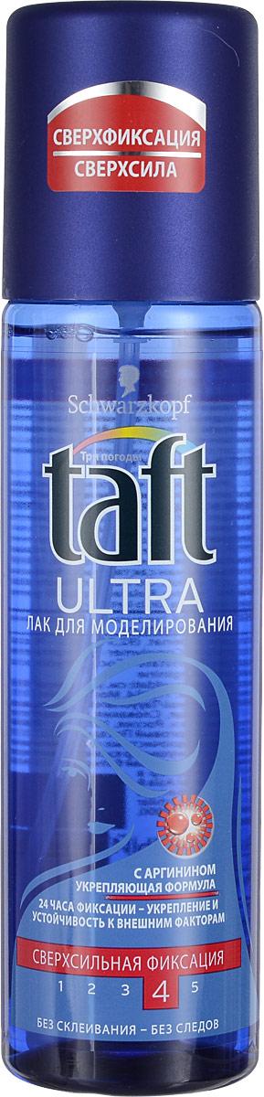 Лак для моделирования Taft Ultra, сверхсильная фиксация, 200 мл906060Жидкий лак для моделирования Taft Ultra не склеивает волосы, легко удаляется при расчесывании. Волосы остаются мягкими и не пересушенными. Senso Touch эффект - длительная фиксация 24 часа и ощущение естественных волос - без склеивания.