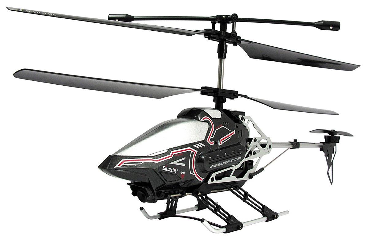 Silverlit Вертолет на радиоуправлении Sky Eye цвет черный самолеты и вертолеты silverlit вертолет 3 х канальный heli sniper 2 со стрелами зеленый