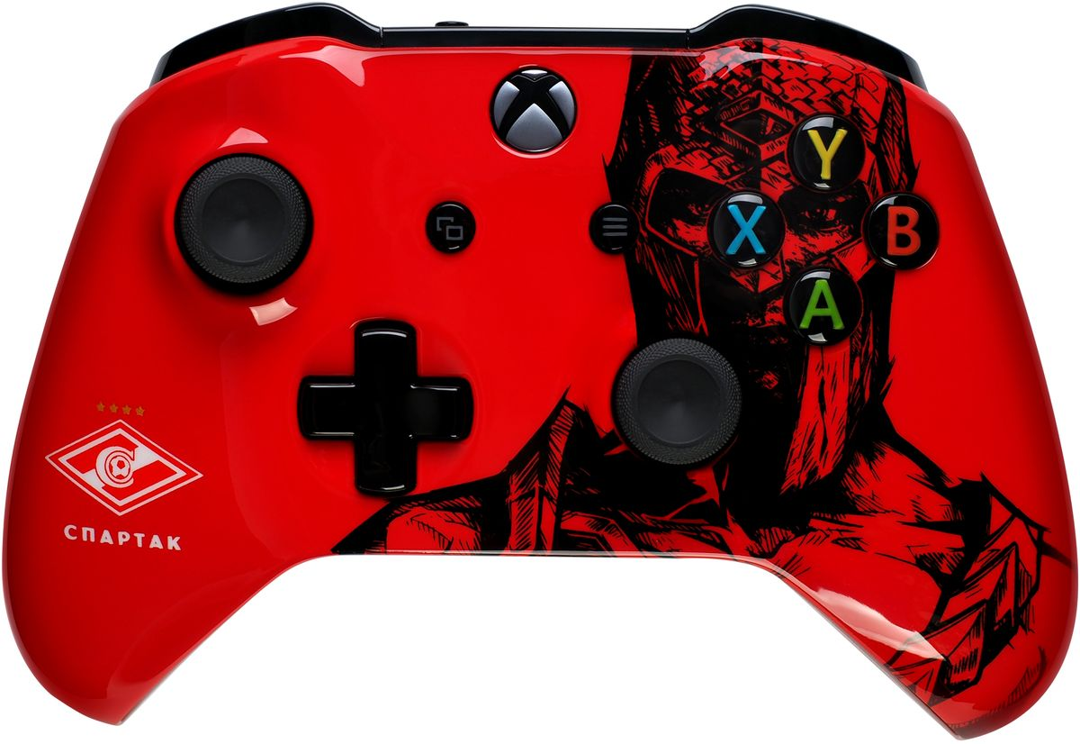 Xbox One Спартак Гладиатор беспроводной геймпад геймпад беспроводной microsoft controller for xbox one [wl3 00090] [xbox one] combat tech