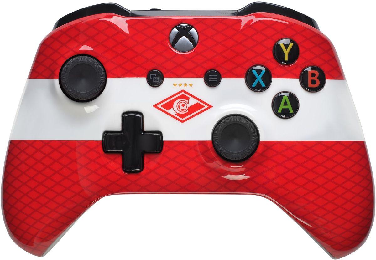 Xbox One Спартак беспроводной геймпад геймпад беспроводной microsoft controller for xbox one [wl3 00090] [xbox one] combat tech