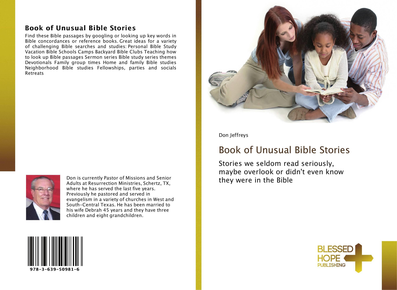 Book of Unusual Bible Stories