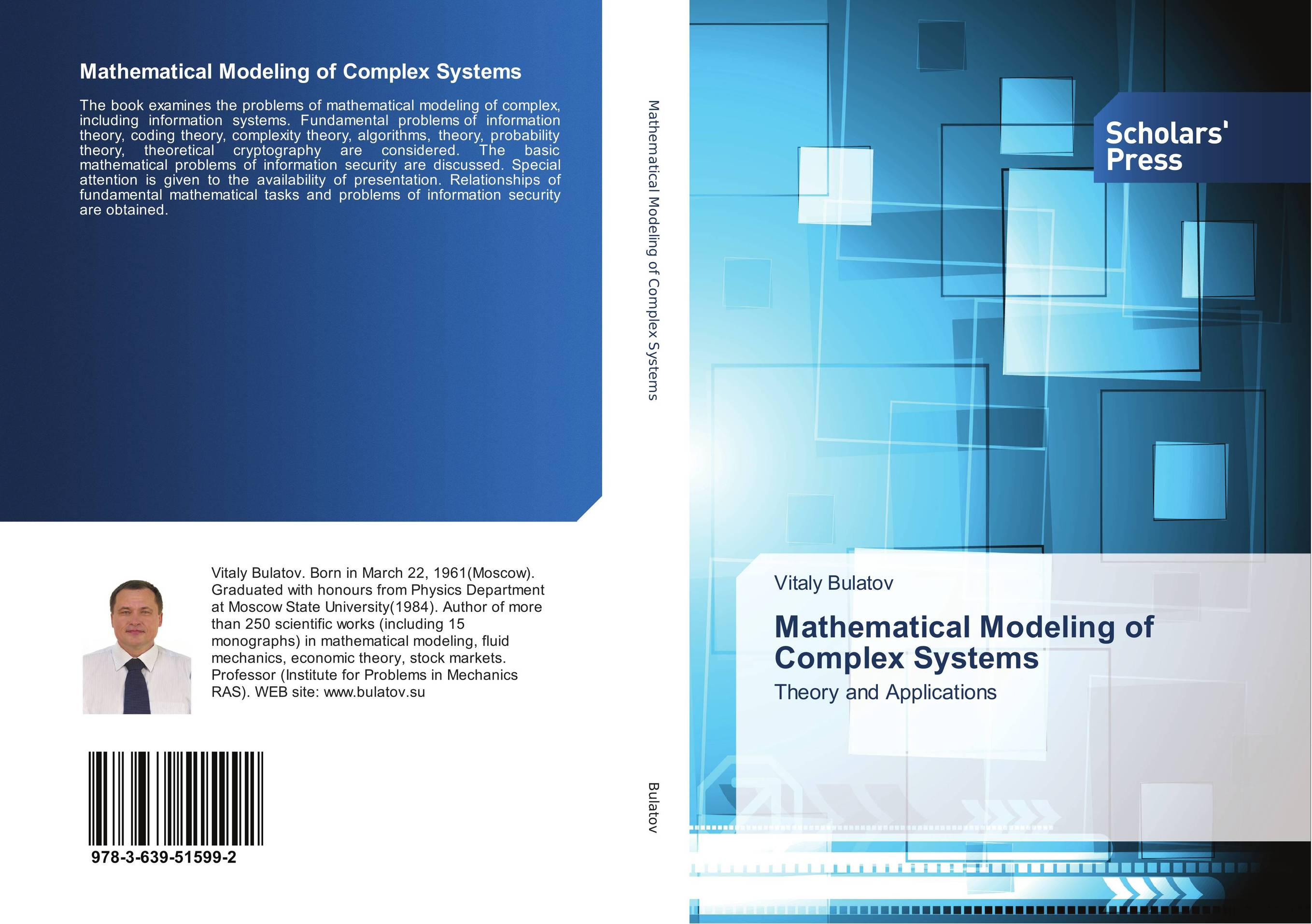 Mathematical Modeling of Complex Systems mathematical modeling for the mcm icm co