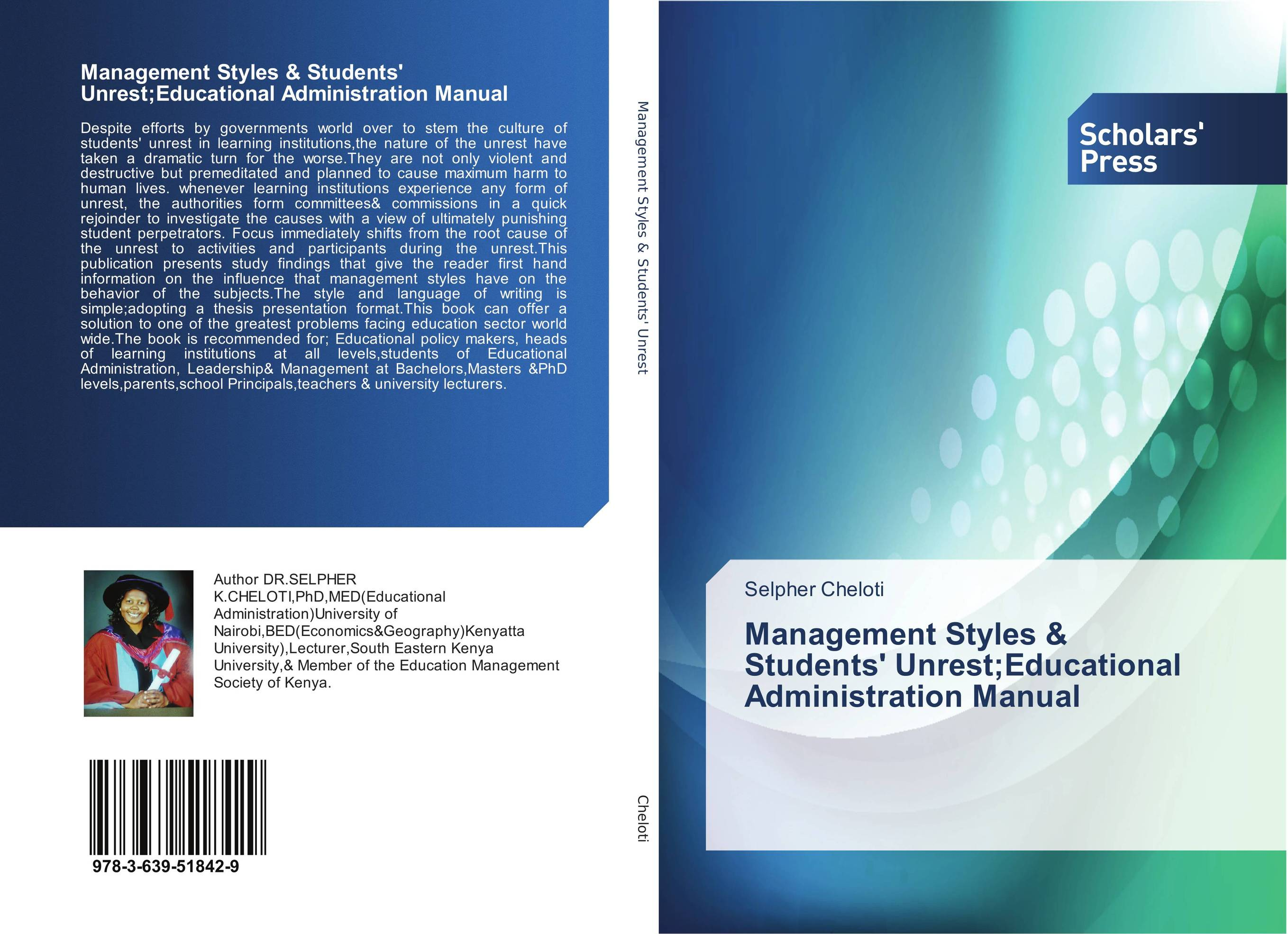 Management Styles & Students' Unrest;Educational Administration Manual the teeth with root canal students to practice root canal preparation and filling actually