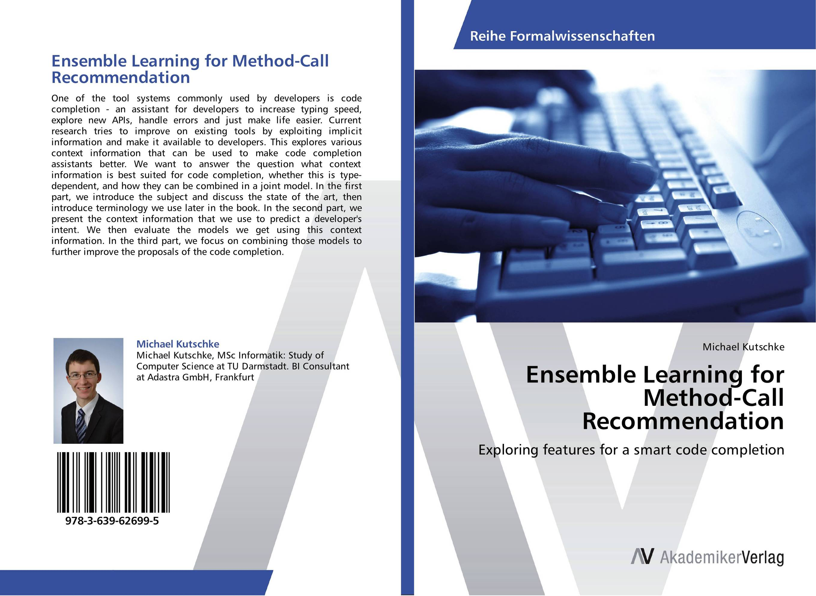 Ensemble Learning for Method-Call Recommendation completion