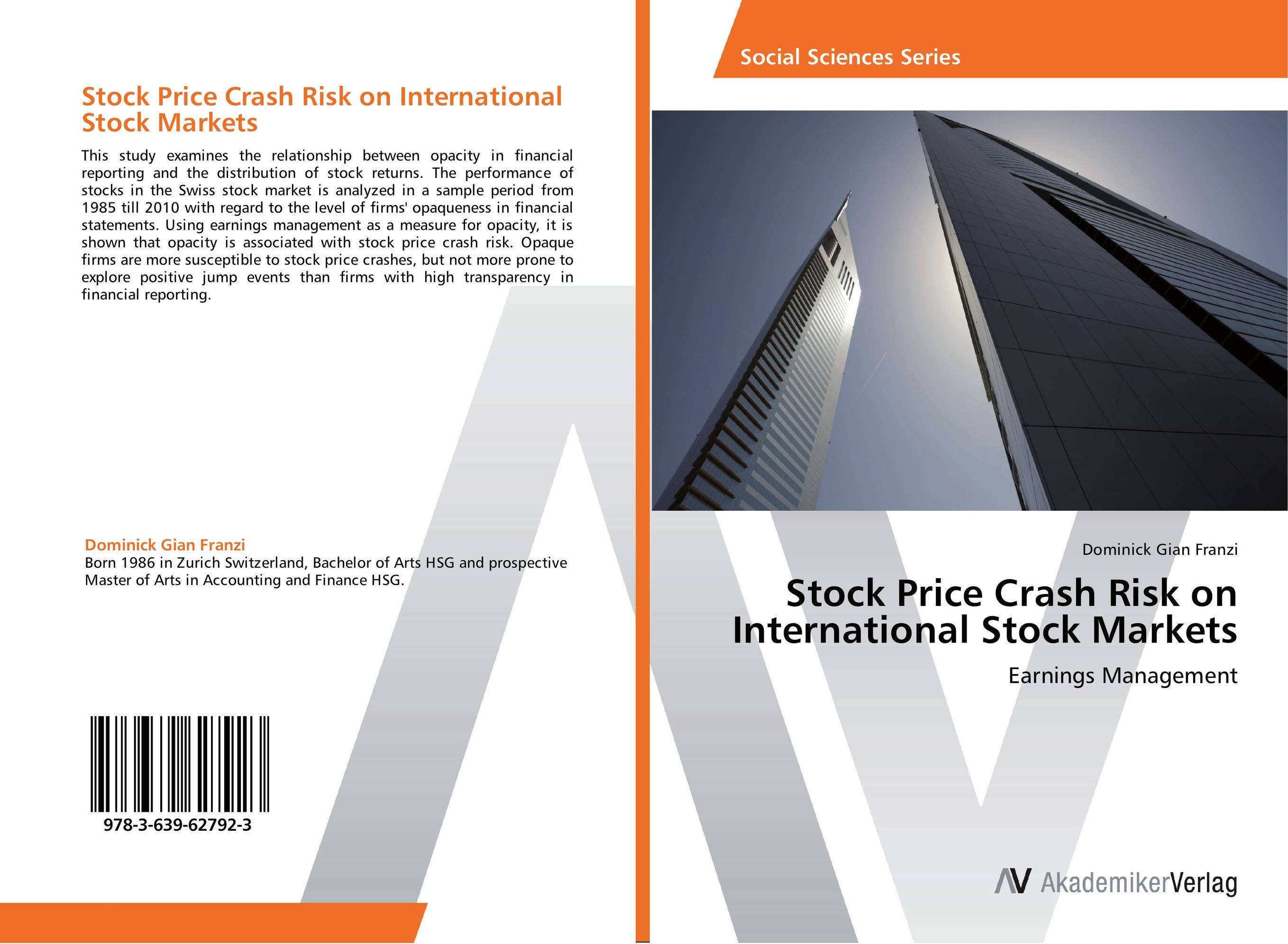 Stock Price Crash Risk on International Stock Markets crash romeo crash romeo give me the clap