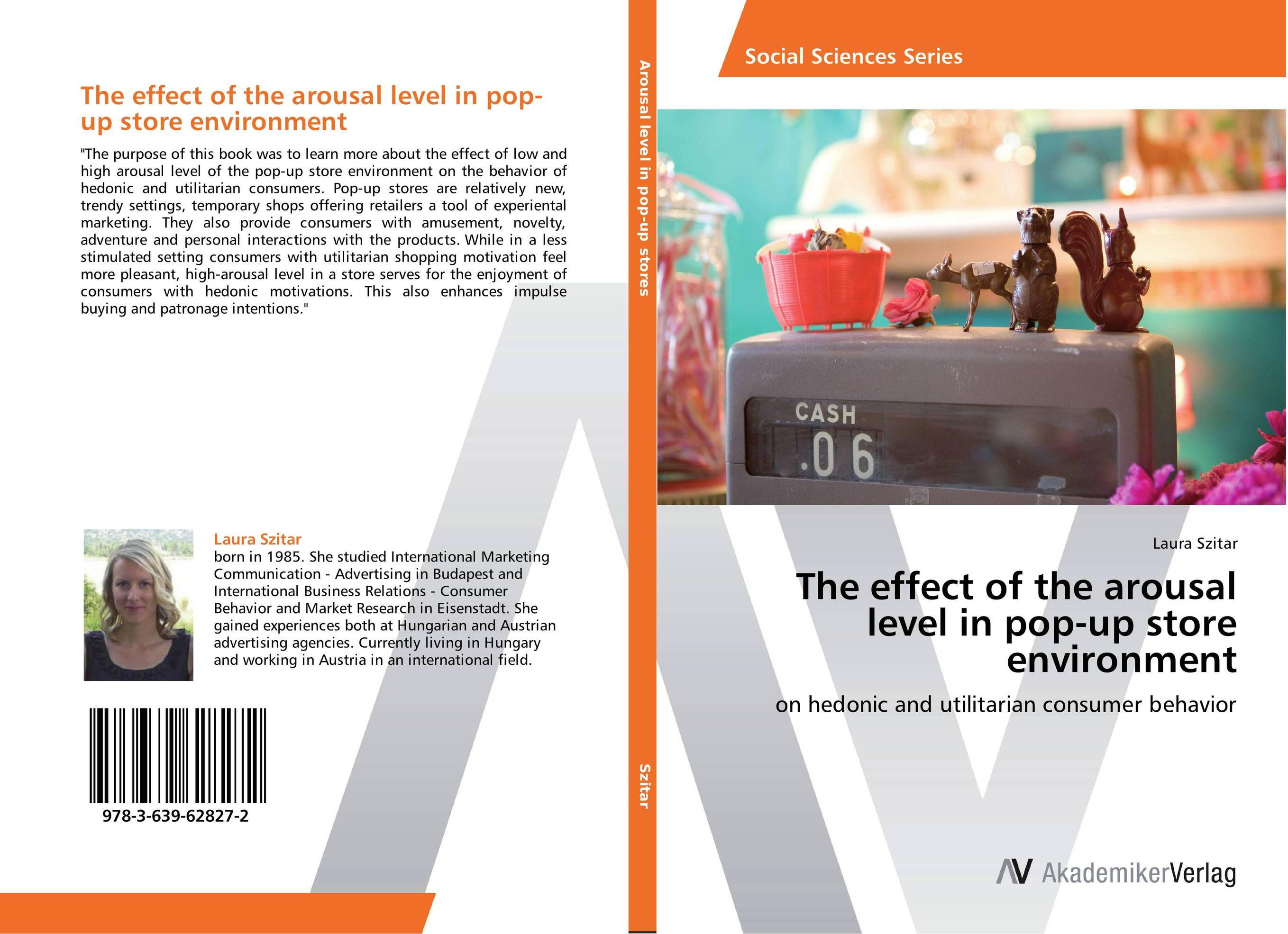 The effect of the arousal level in pop-up store environment managing the store