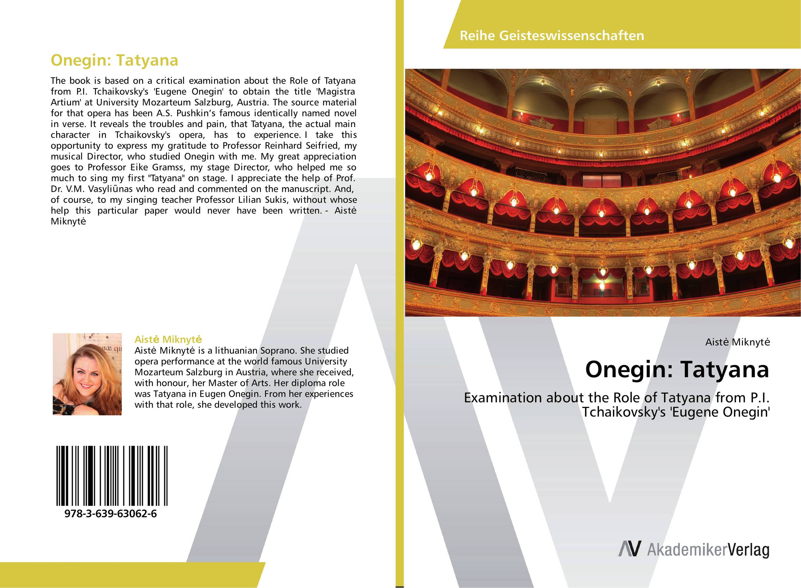Onegin: Tatyana the woman who stole my life