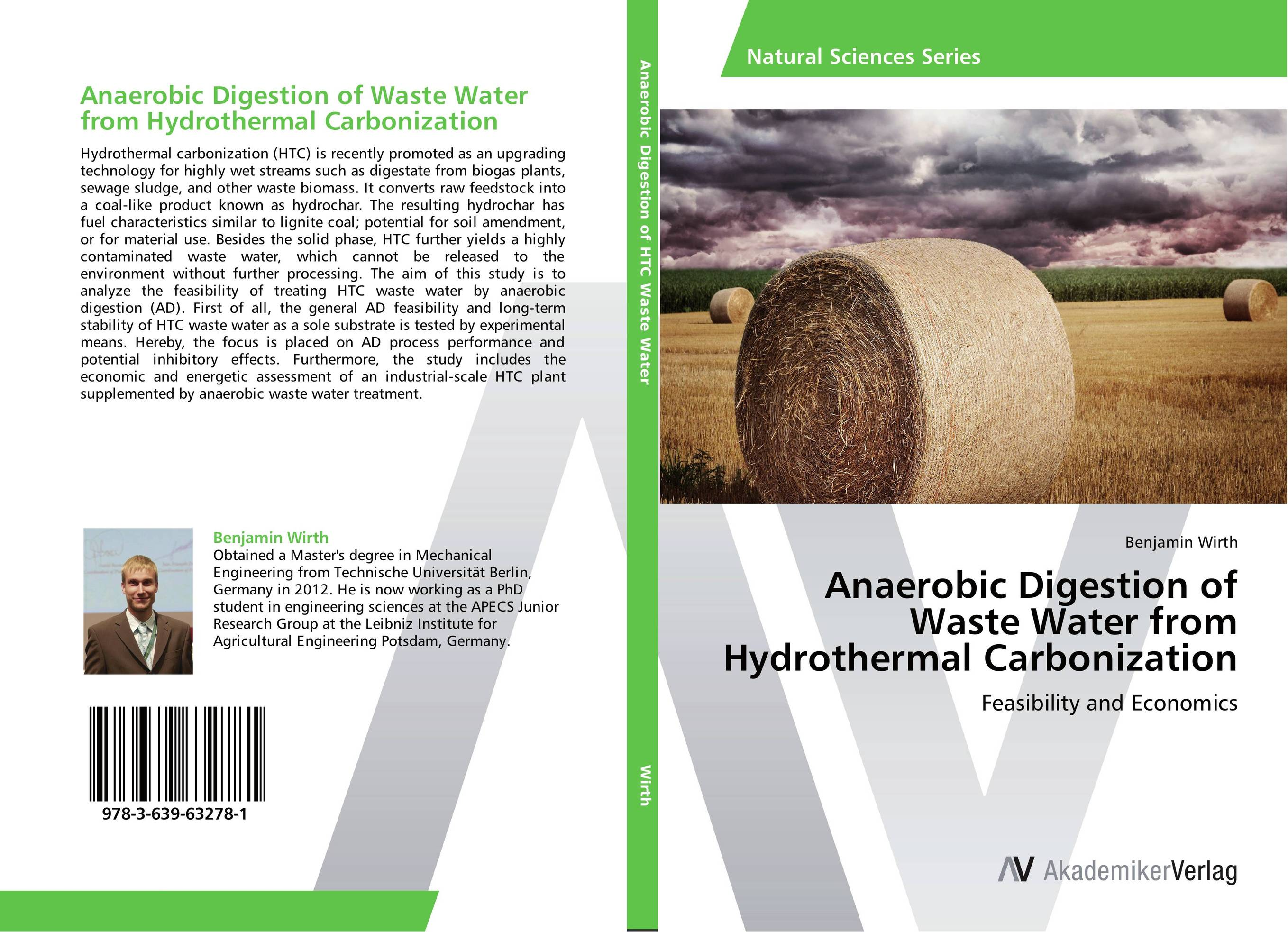 Anaerobic Digestion of Waste Water from Hydrothermal Carbonization antimicrobial contaminant elimination from water and waste sludge