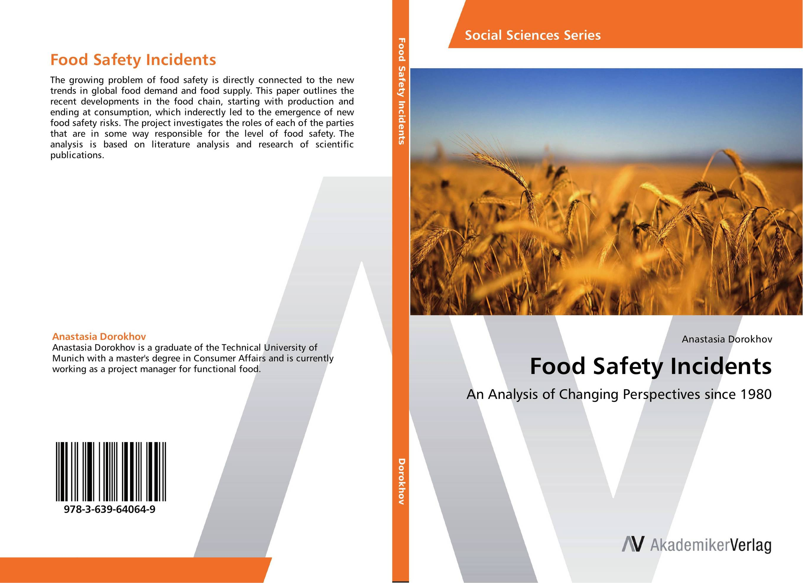 Food Safety Incidents chemistry of food food production and food contact materials