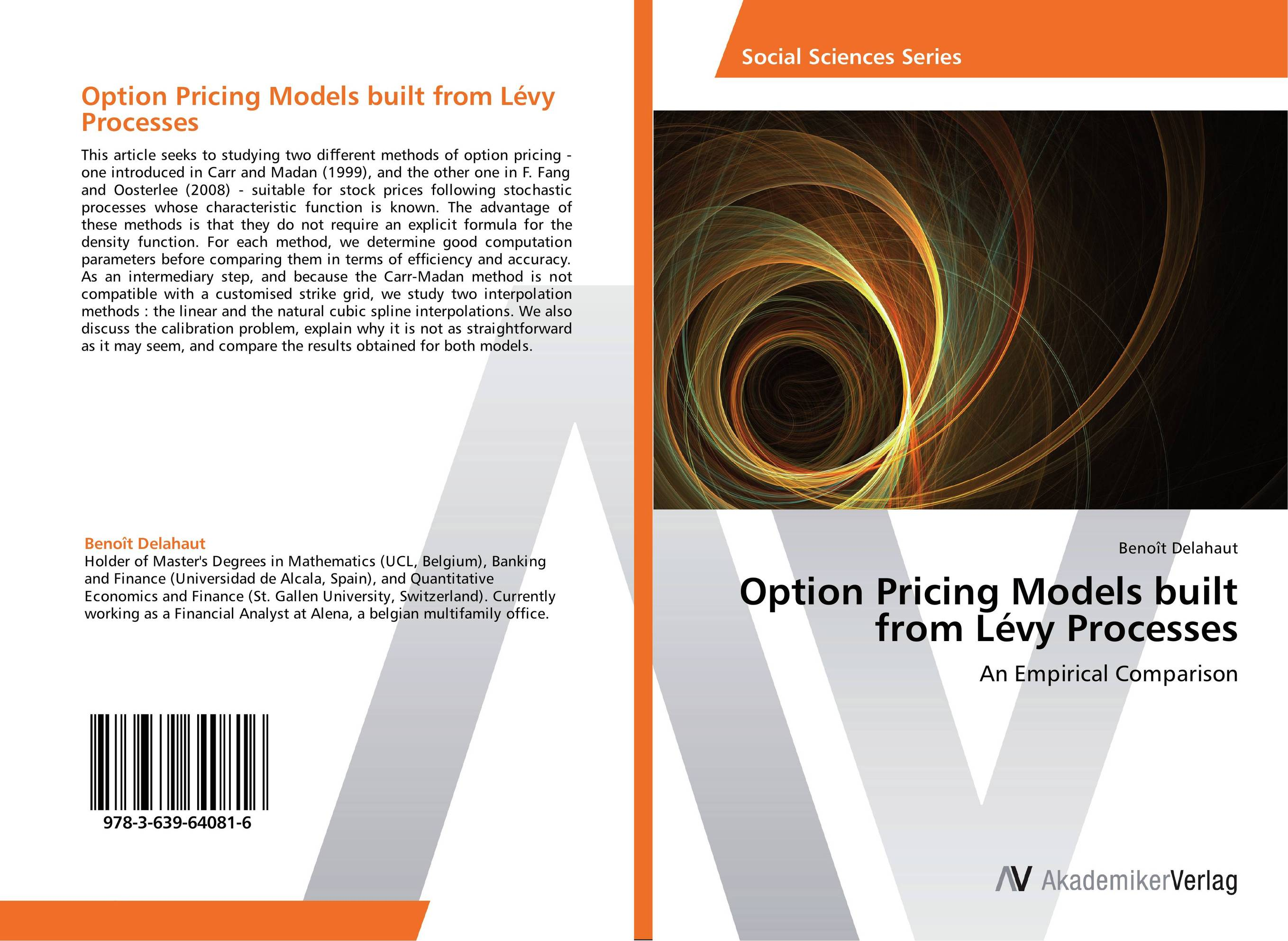 Option Pricing Models built from Levy Processes