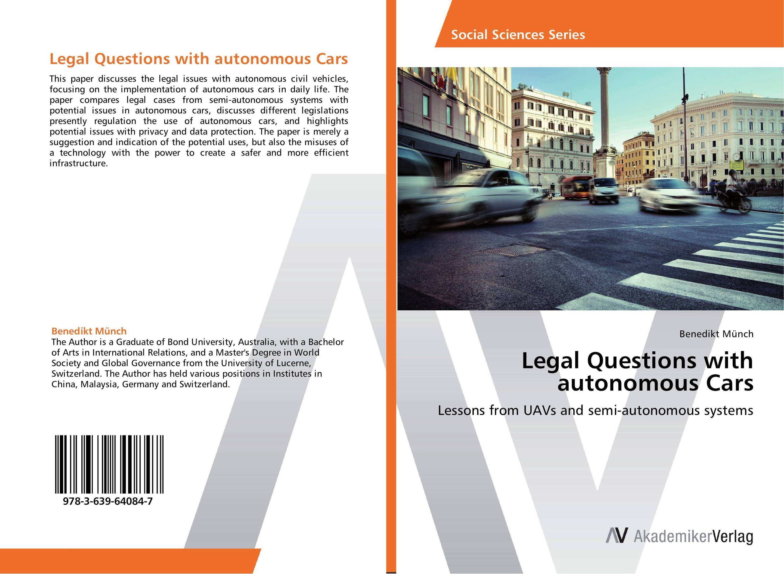 Legal Questions with autonomous Cars цены онлайн