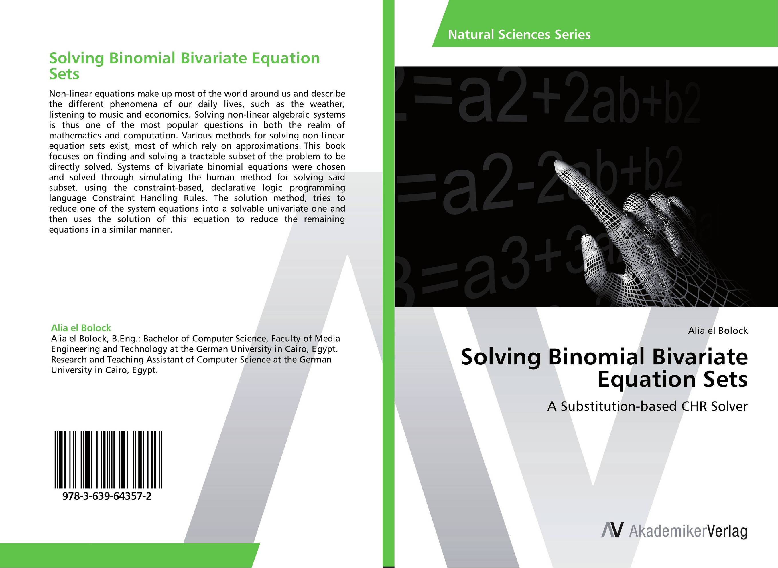 Solving Binomial Bivariate Equation Sets non linear theory of elasticity and optimal design