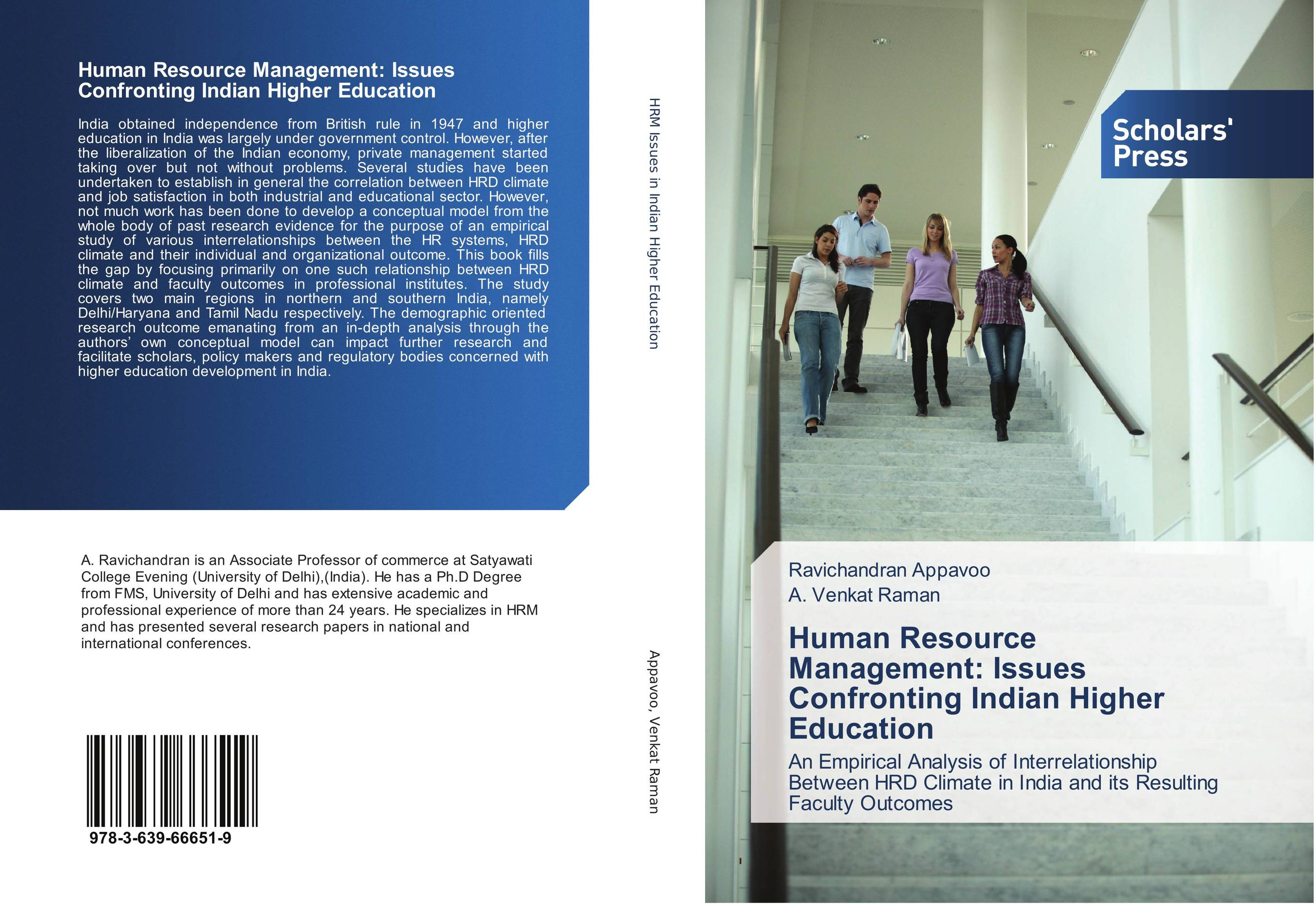 Human Resource Management: Issues Confronting Indian Higher Education