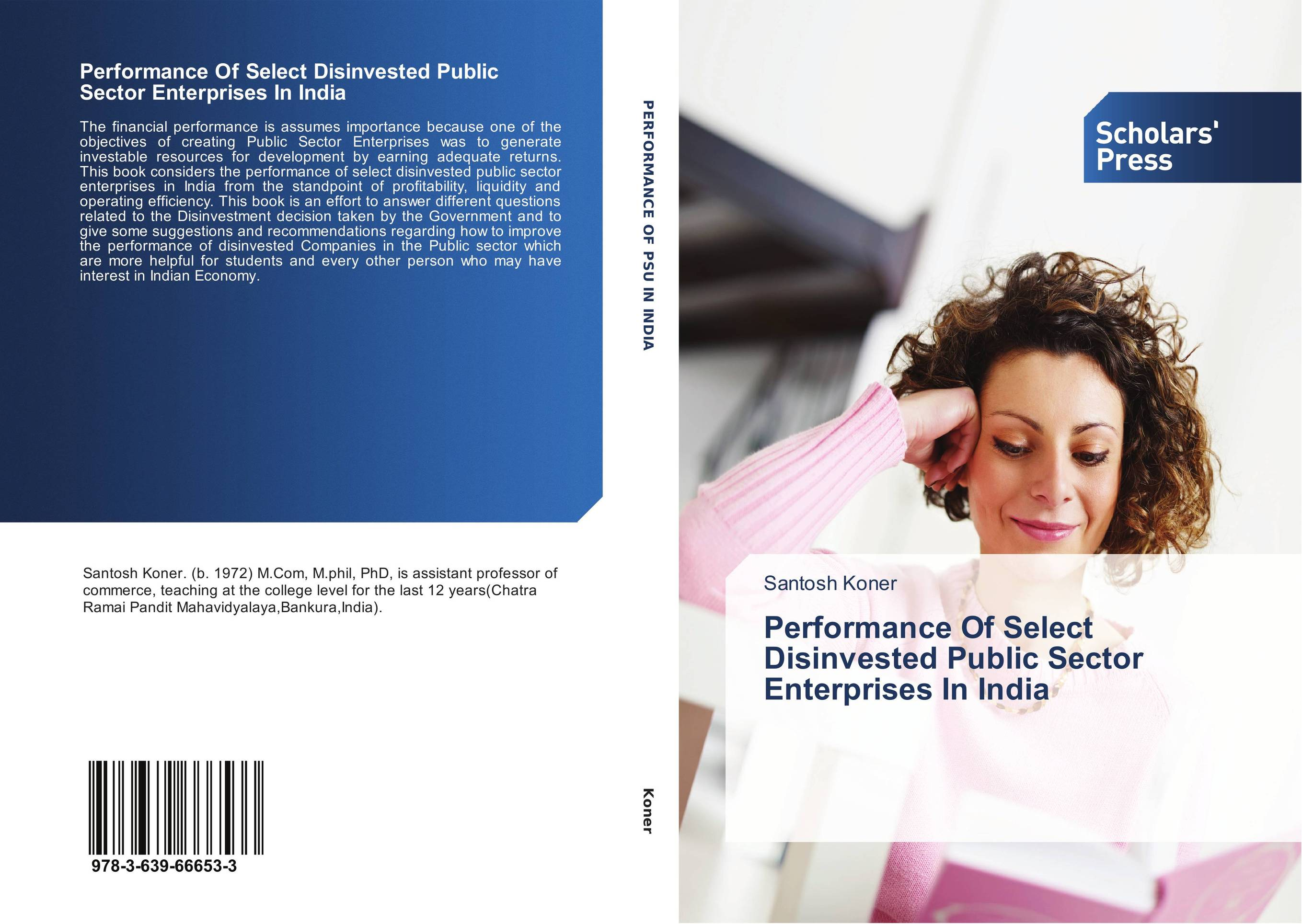 Performance Of Select Disinvested Public Sector Enterprises In India amalendu bhunia financial performance analysis of pharmaceutical enterprises in india