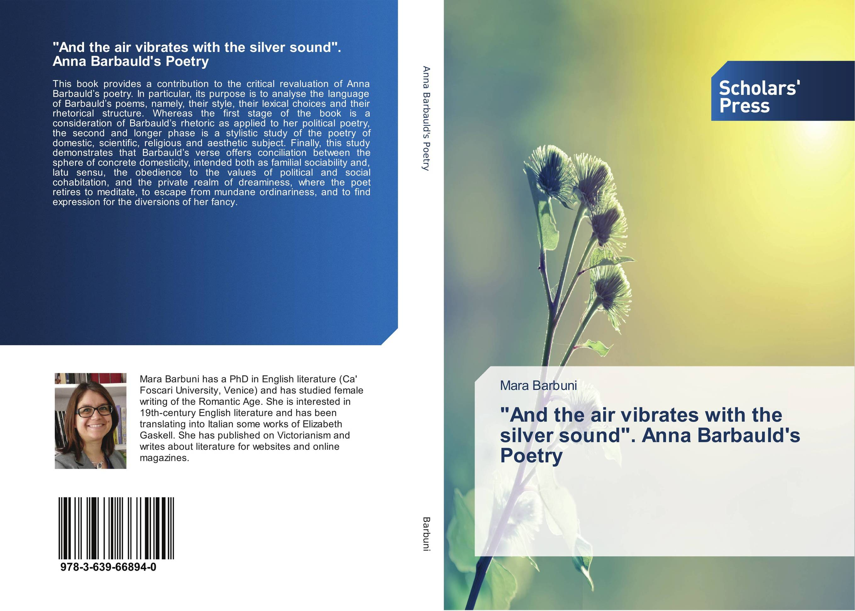 And the air vibrates with the silver sound. Anna Barbauld's Poetry social function of folk poetry