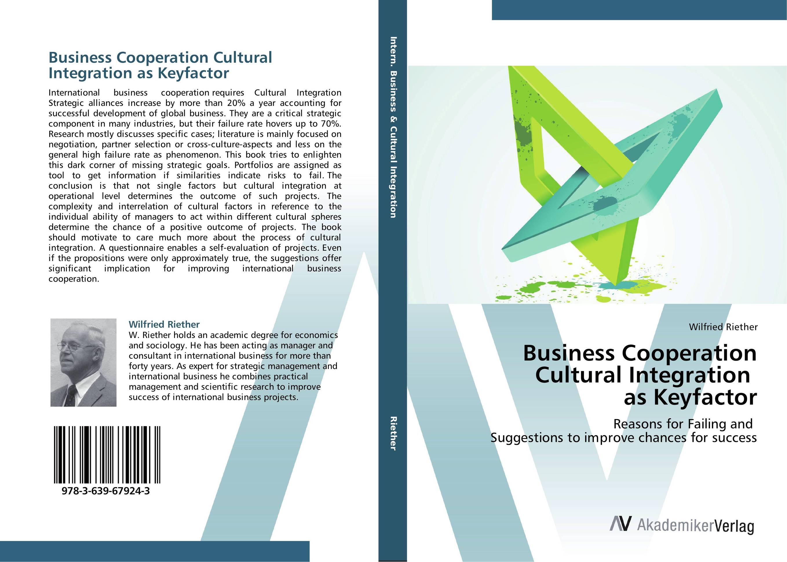 Business Cooperation Cultural Integration as Keyfactor