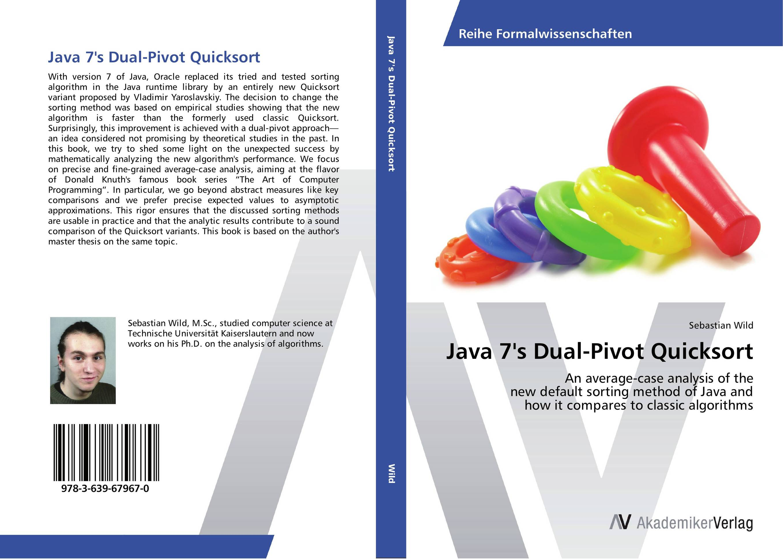 Java 7's Dual-Pivot Quicksort гупта а java ee 7 основы