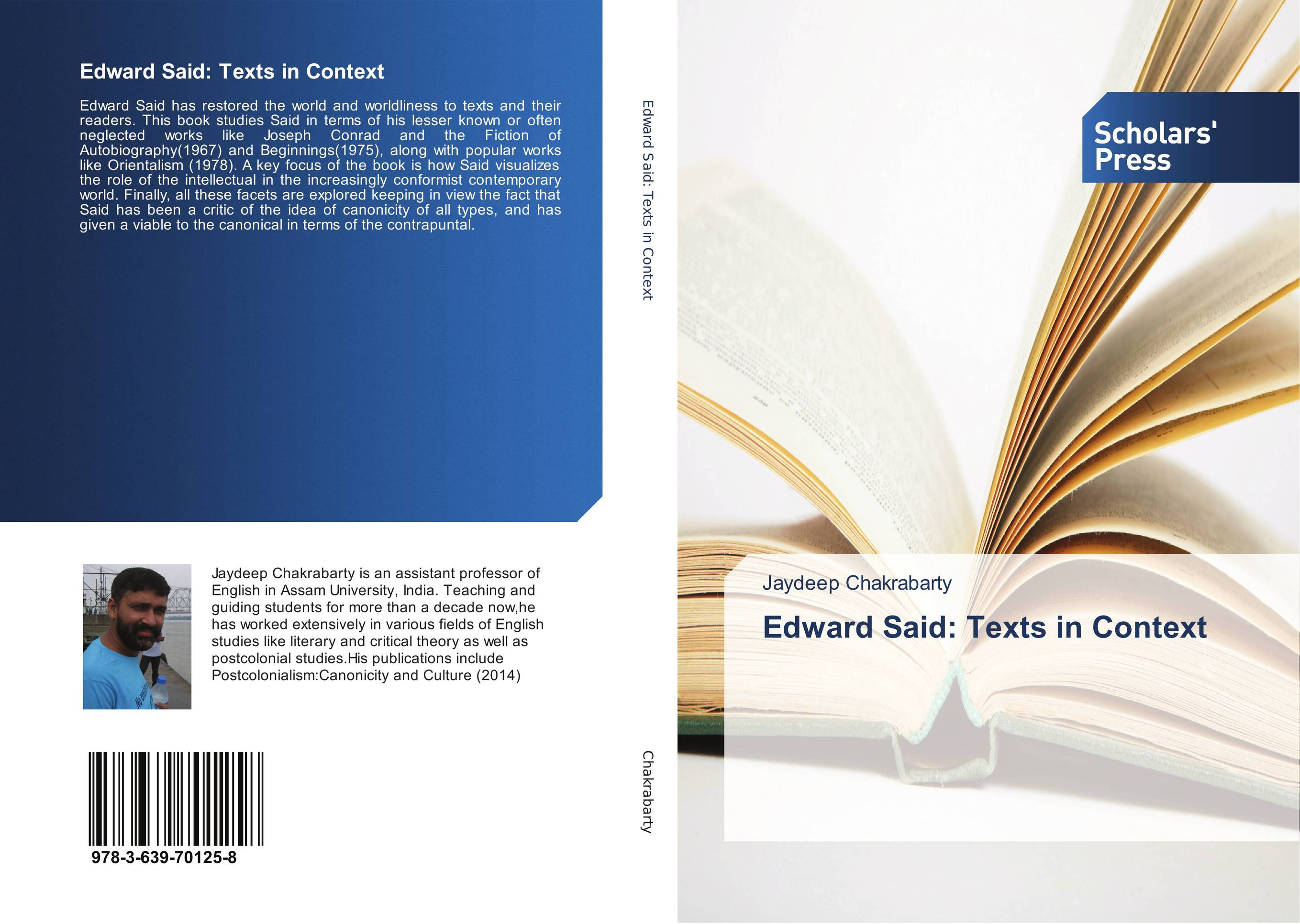 Edward Said: Texts in Context the critic