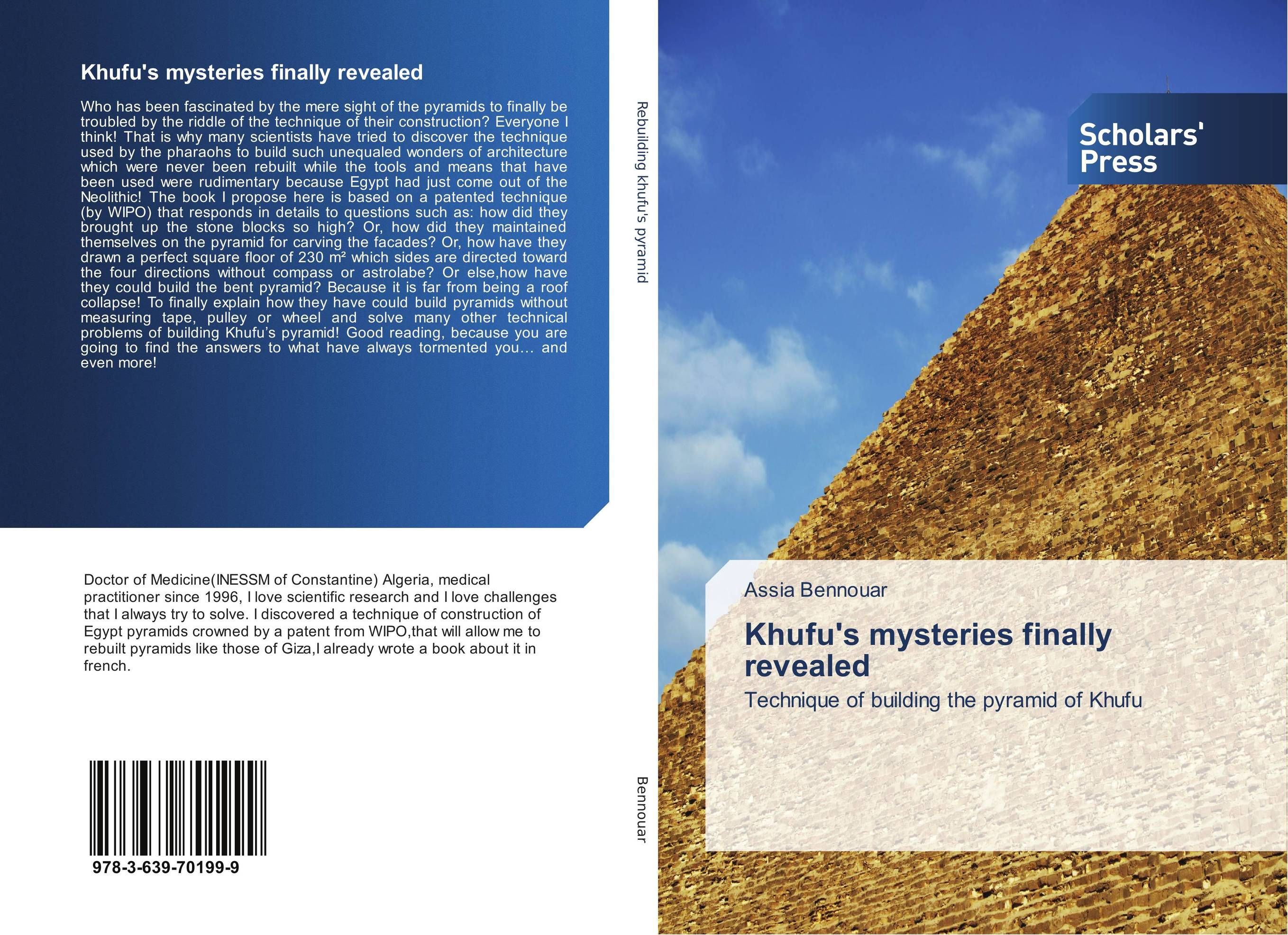 Khufu's mysteries finally revealed the valves are self acting i e they operate without the supply of auxiliary energy such as electricity or compressed air