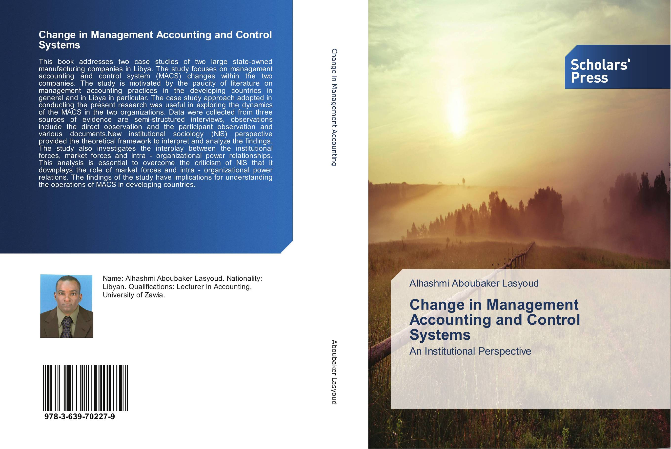 Change in Management Accounting and Control Systems