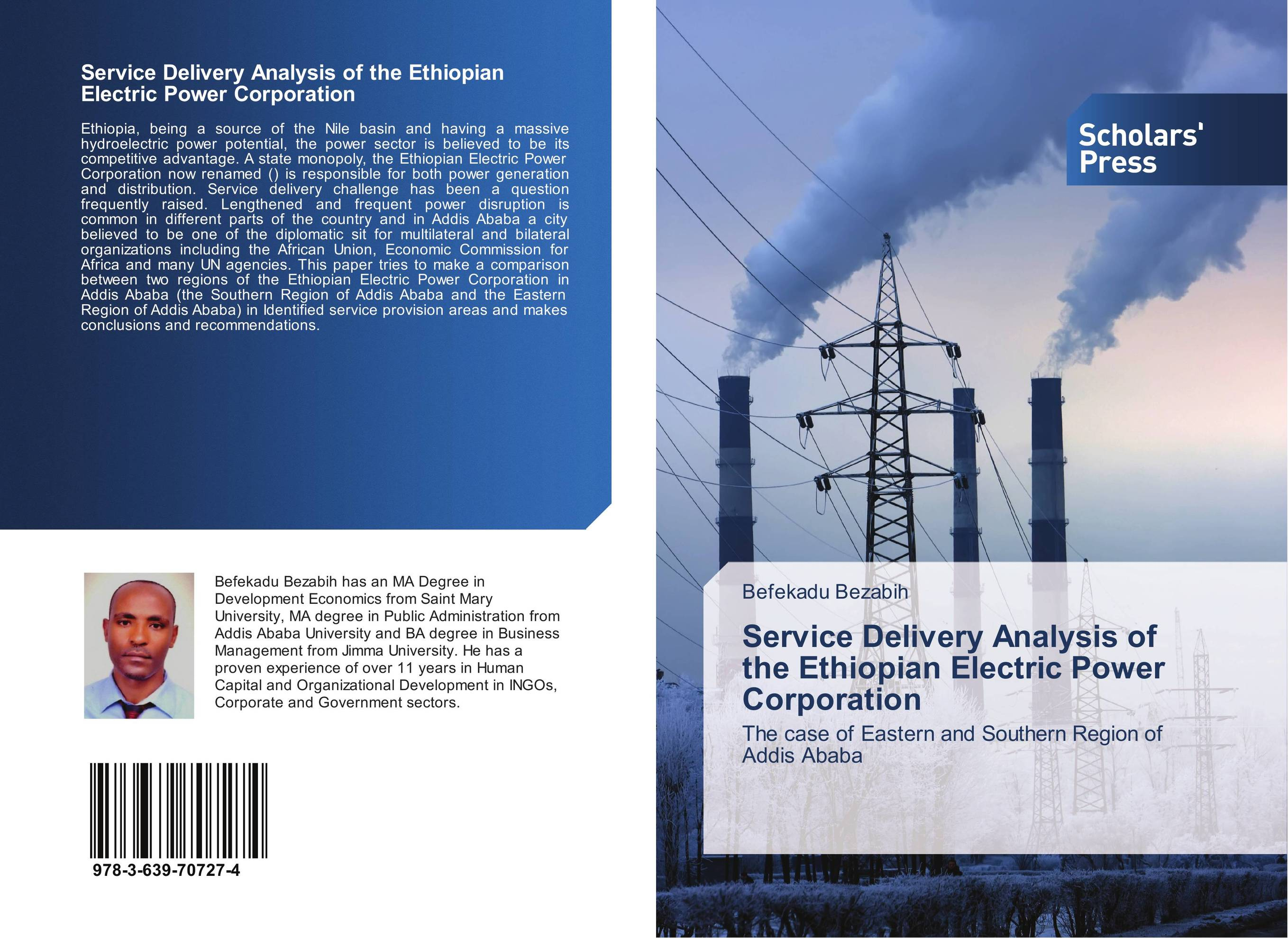 Service Delivery Analysis of the Ethiopian Electric Power Corporation study of the urban drainage system in addis ababa