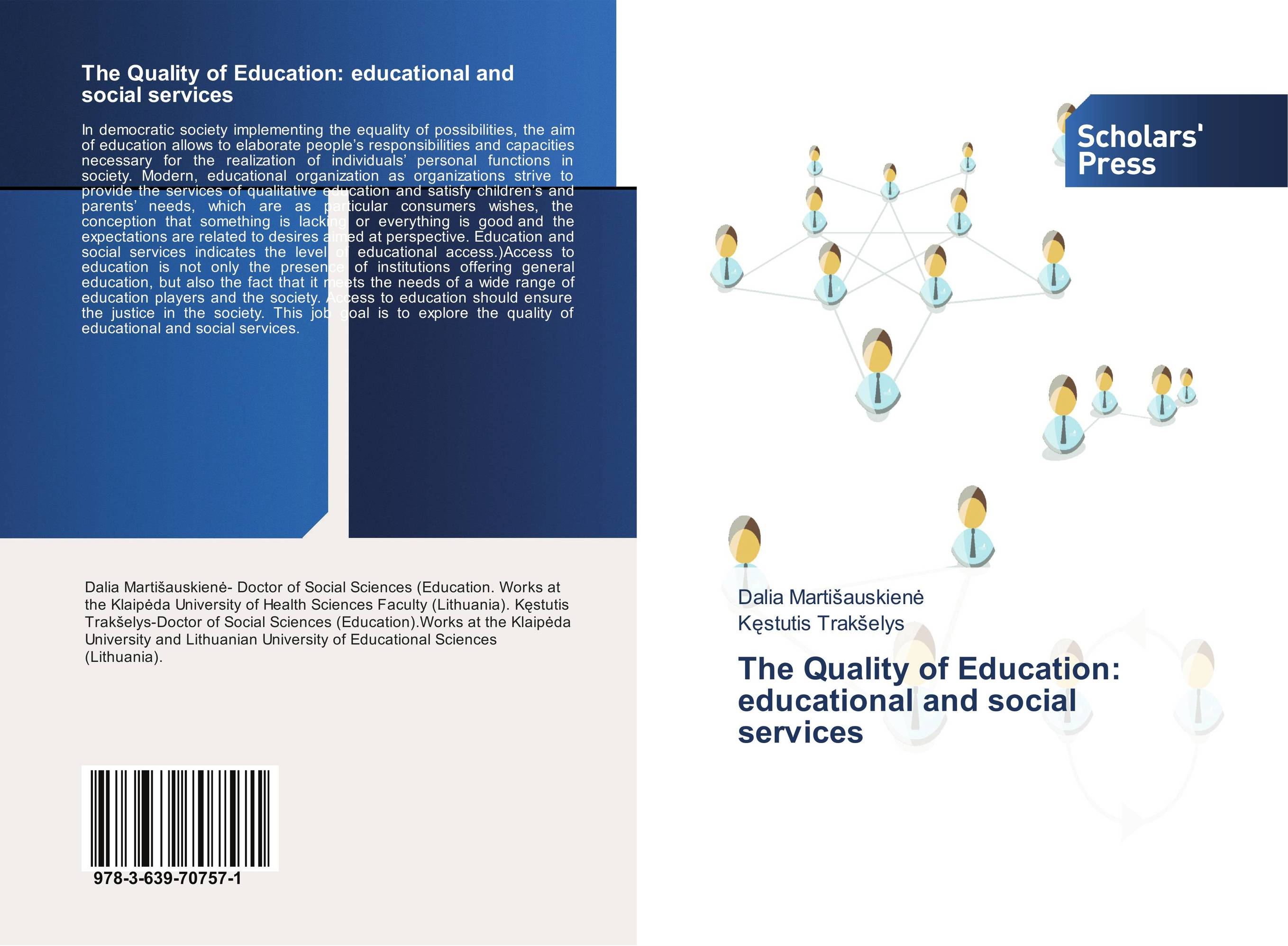 The Quality of Education: educational and social services education special educational needs