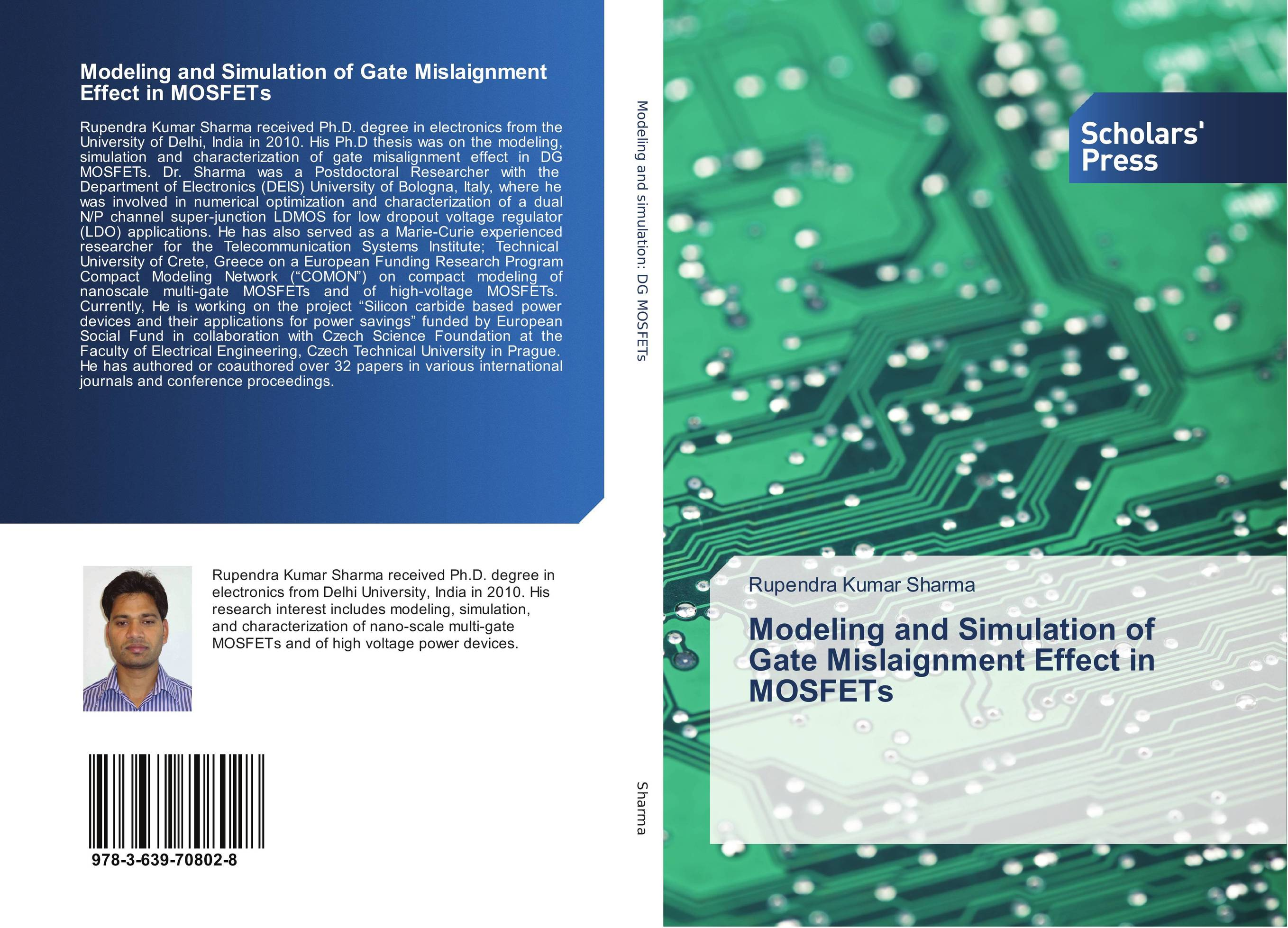 Modeling and Simulation of Gate Mislaignment Effect in MOSFETs сборник статей science and life proceedings of articles the international scientific conference czech republic karlovy vary – russia moscow 28–29 april 2016