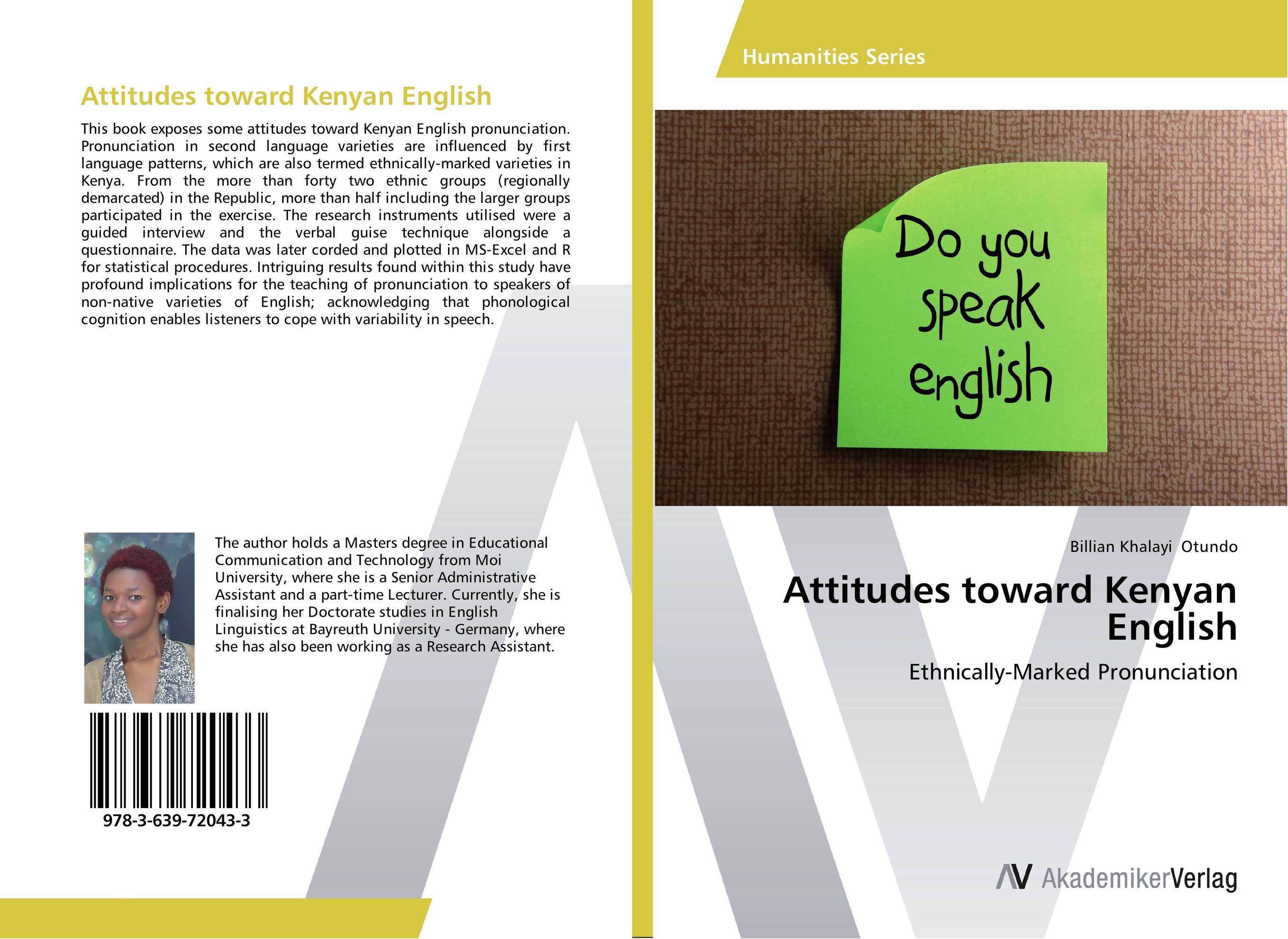 Attitudes toward Kenyan English the teaching of english pronunciation in indian higher primary schools