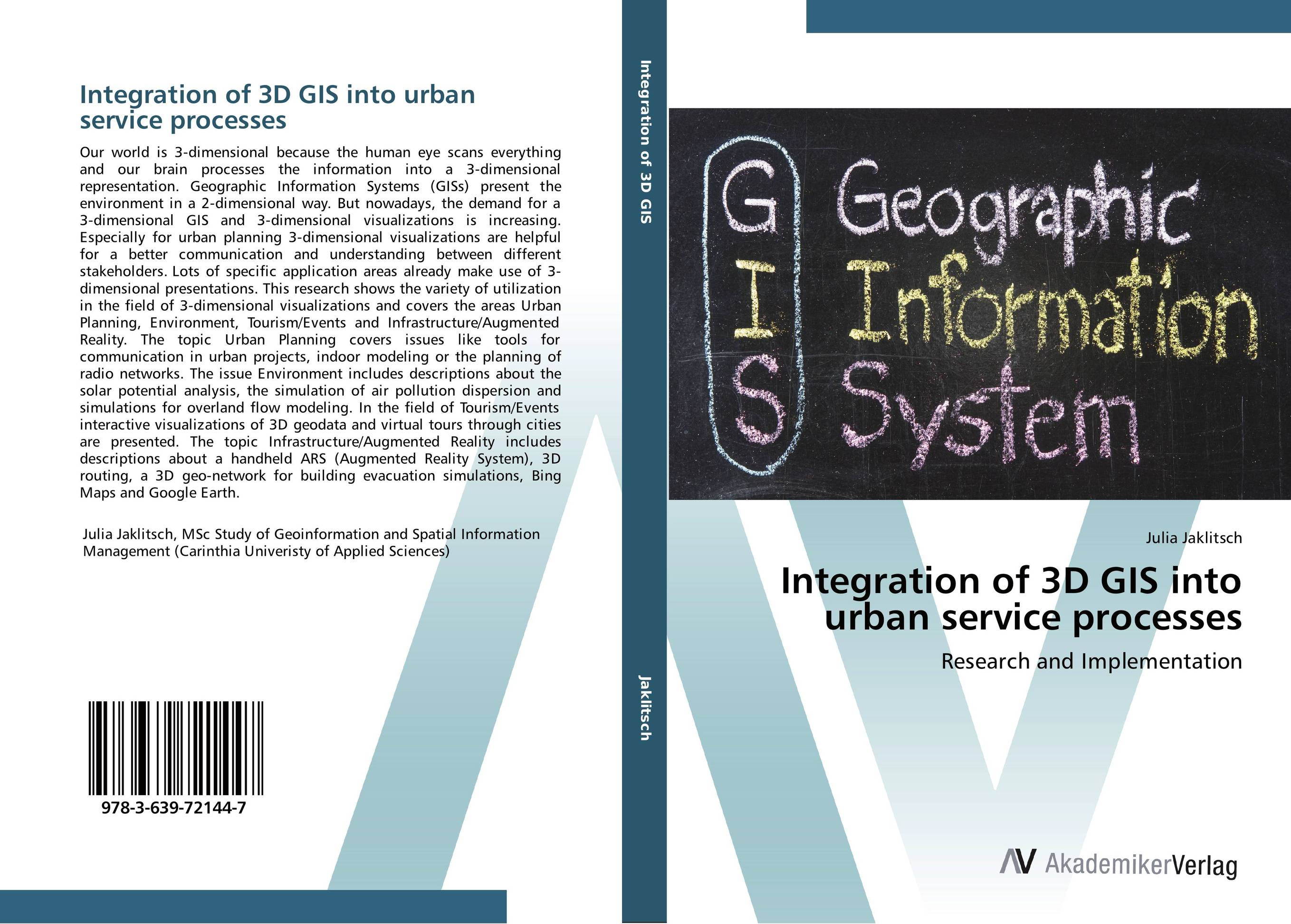 Integration of 3D GIS into urban service processes 3 dimensional scanner