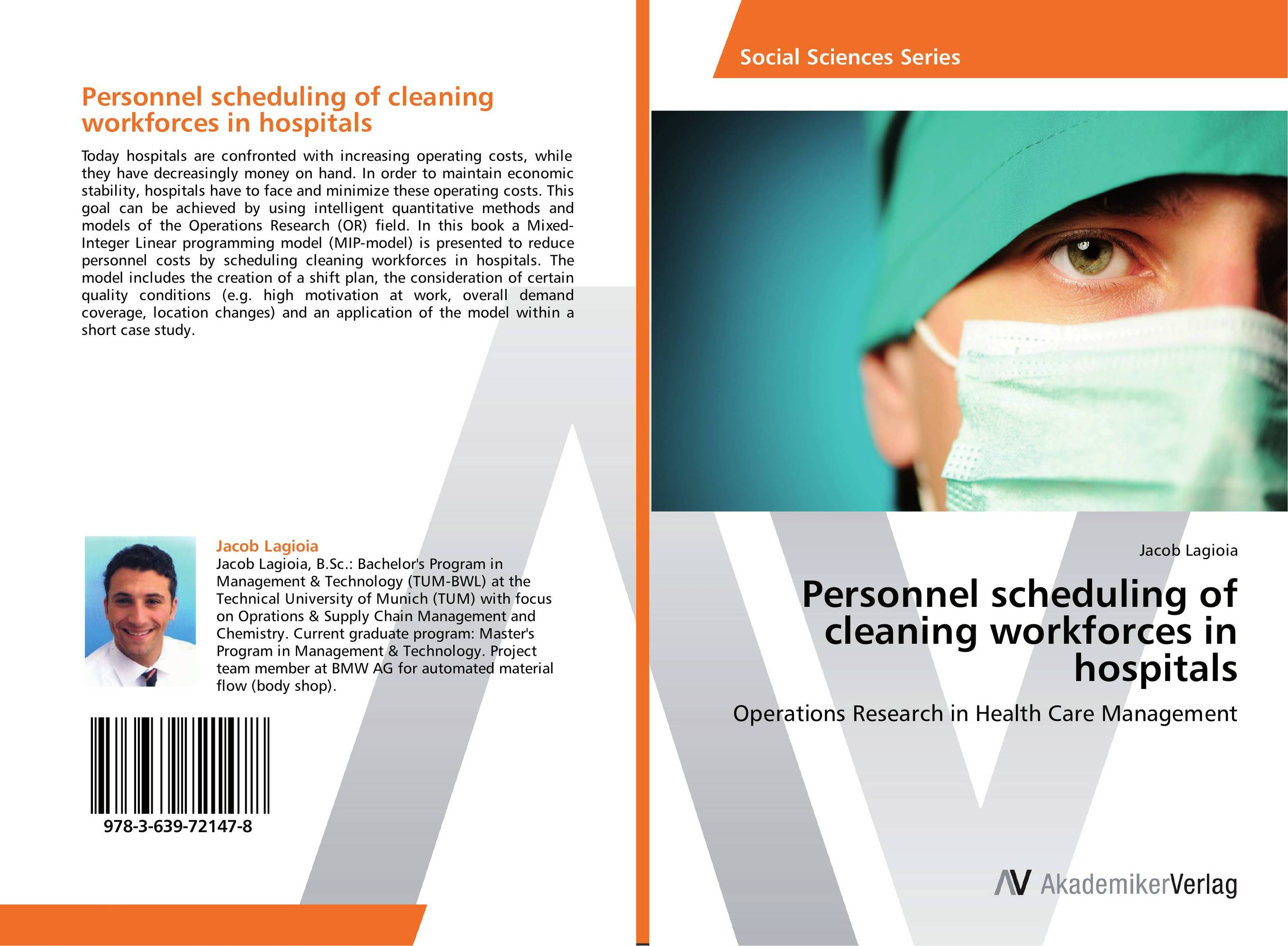 Personnel scheduling of cleaning workforces in hospitals rakesh kumar tiwari and rajendra prasad ojha conformation and stability of mixed dna triplex