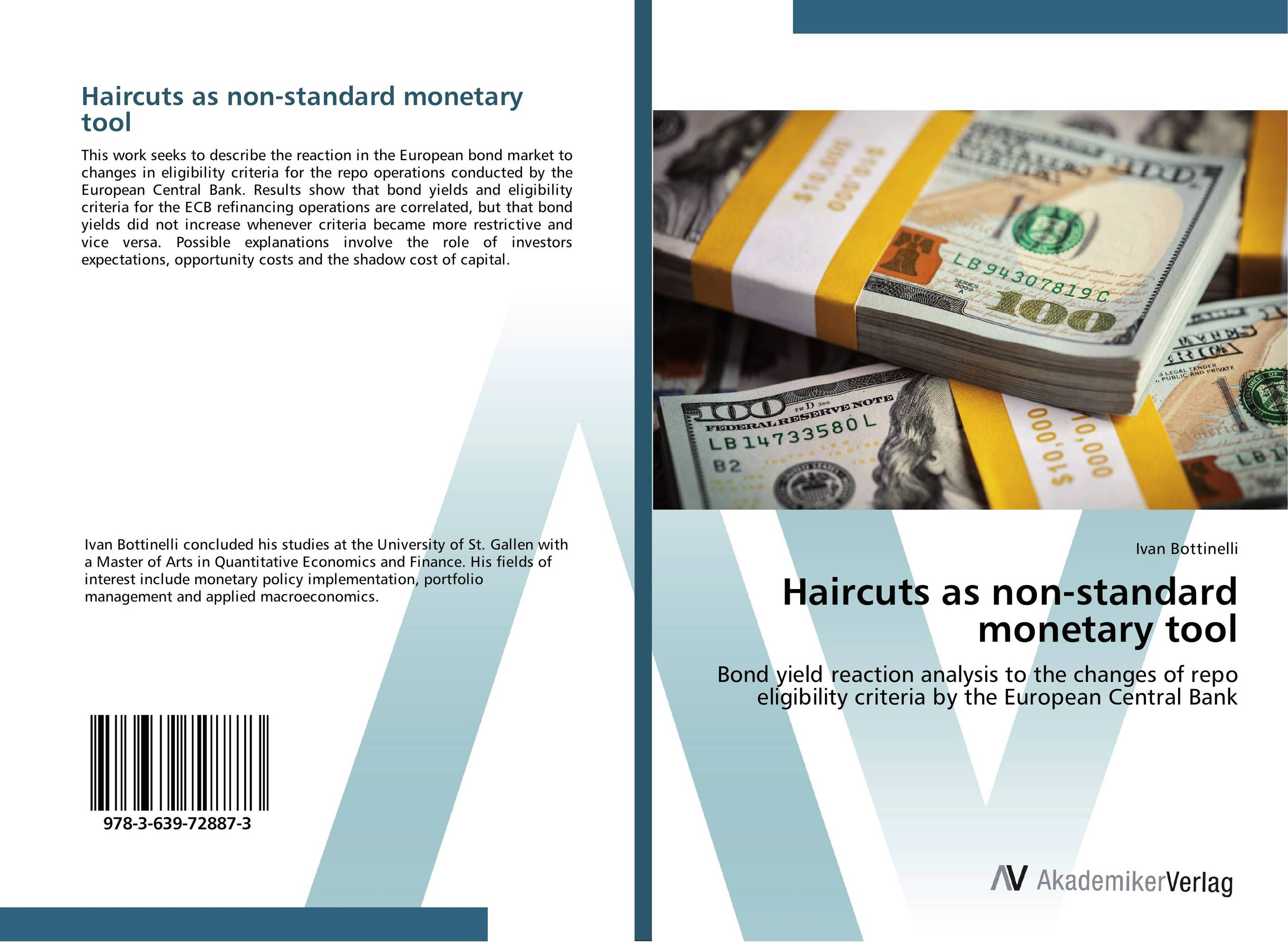 Haircuts as non-standard monetary tool sustainability and the sovereign bond market
