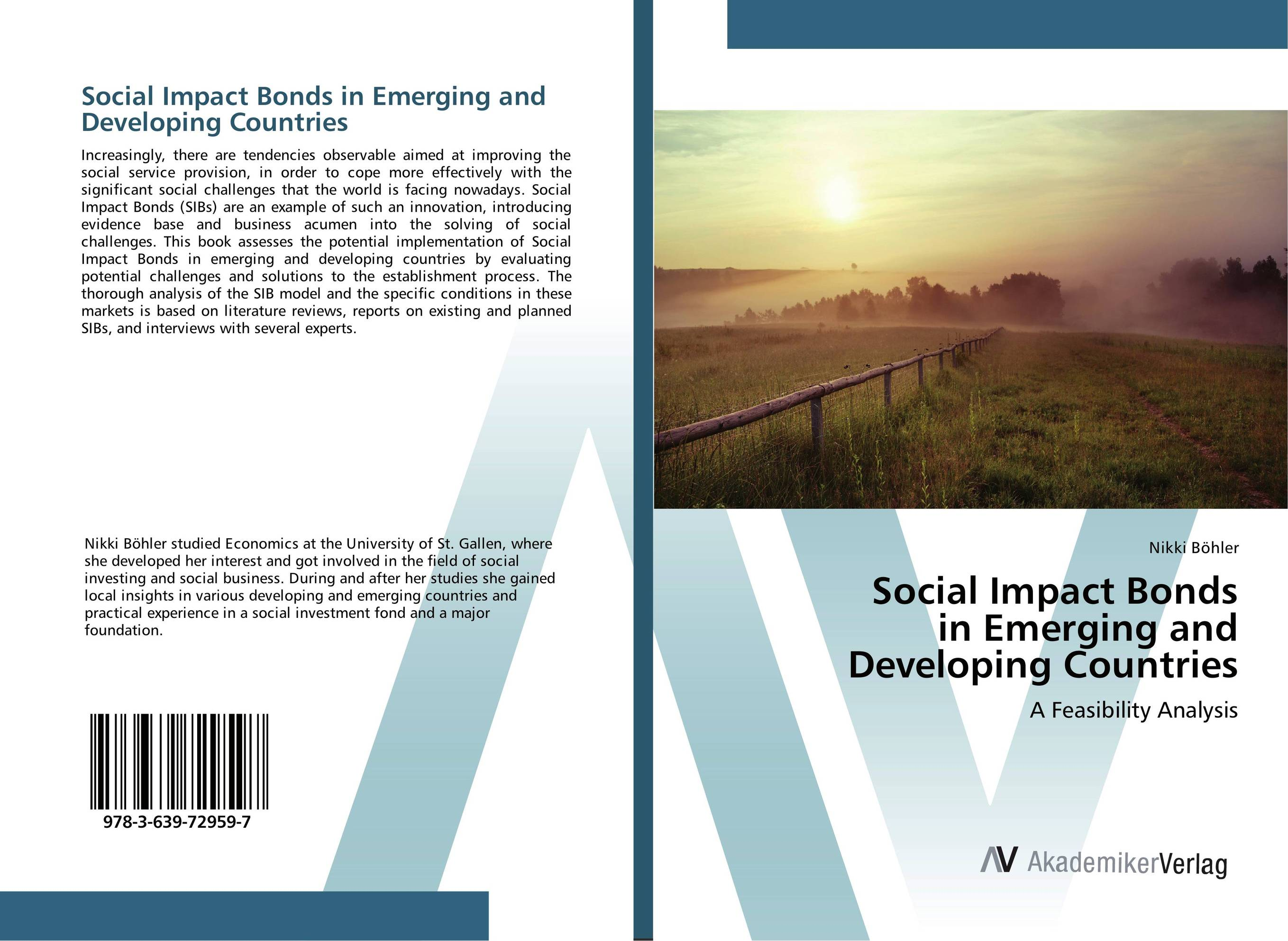 Social Impact Bonds in Emerging and Developing Countries marc lane j the mission driven venture business solutions to the world s most vexing social problems
