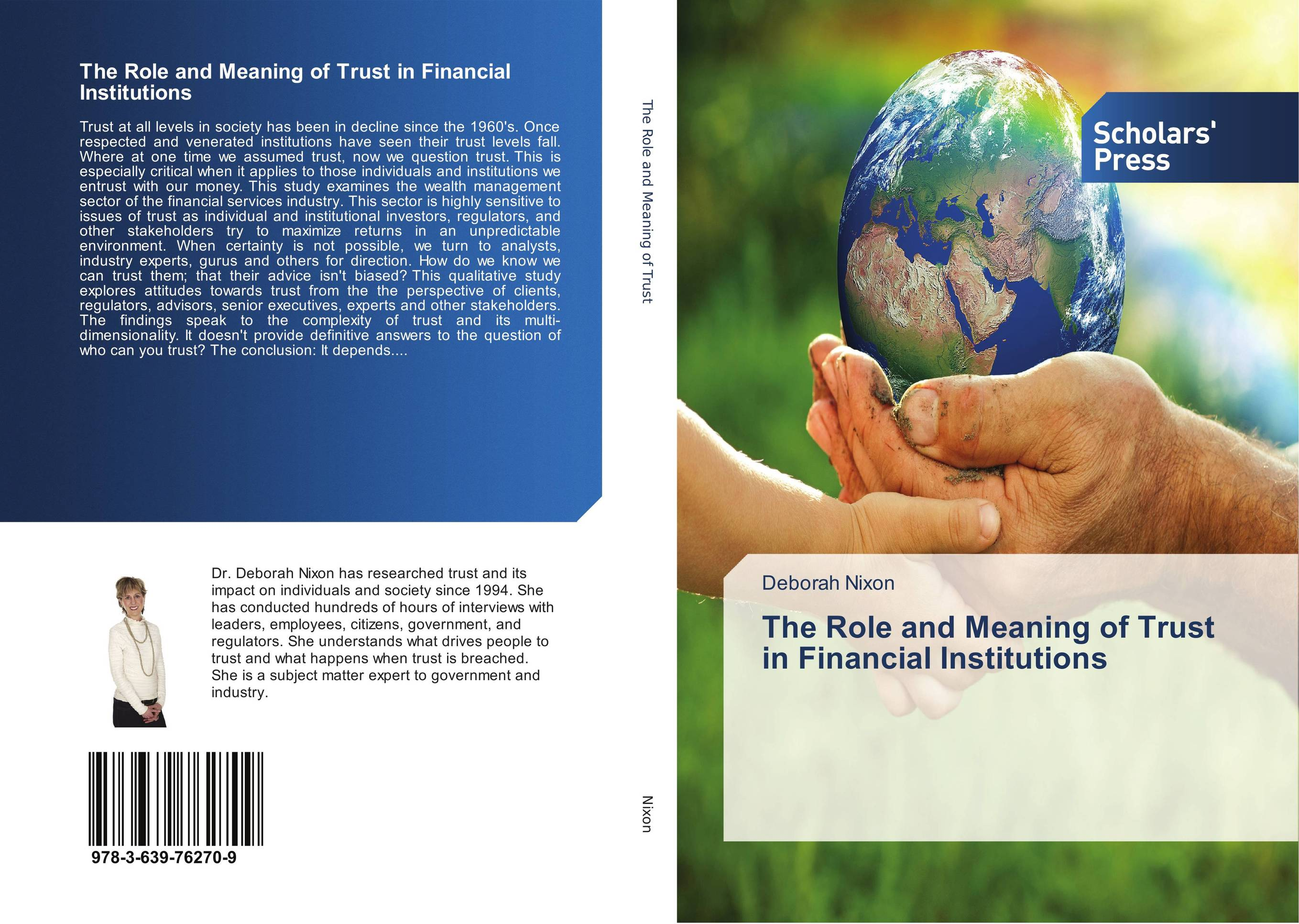 The Role and Meaning of Trust in Financial Institutions hitman anders and the meaning of it all