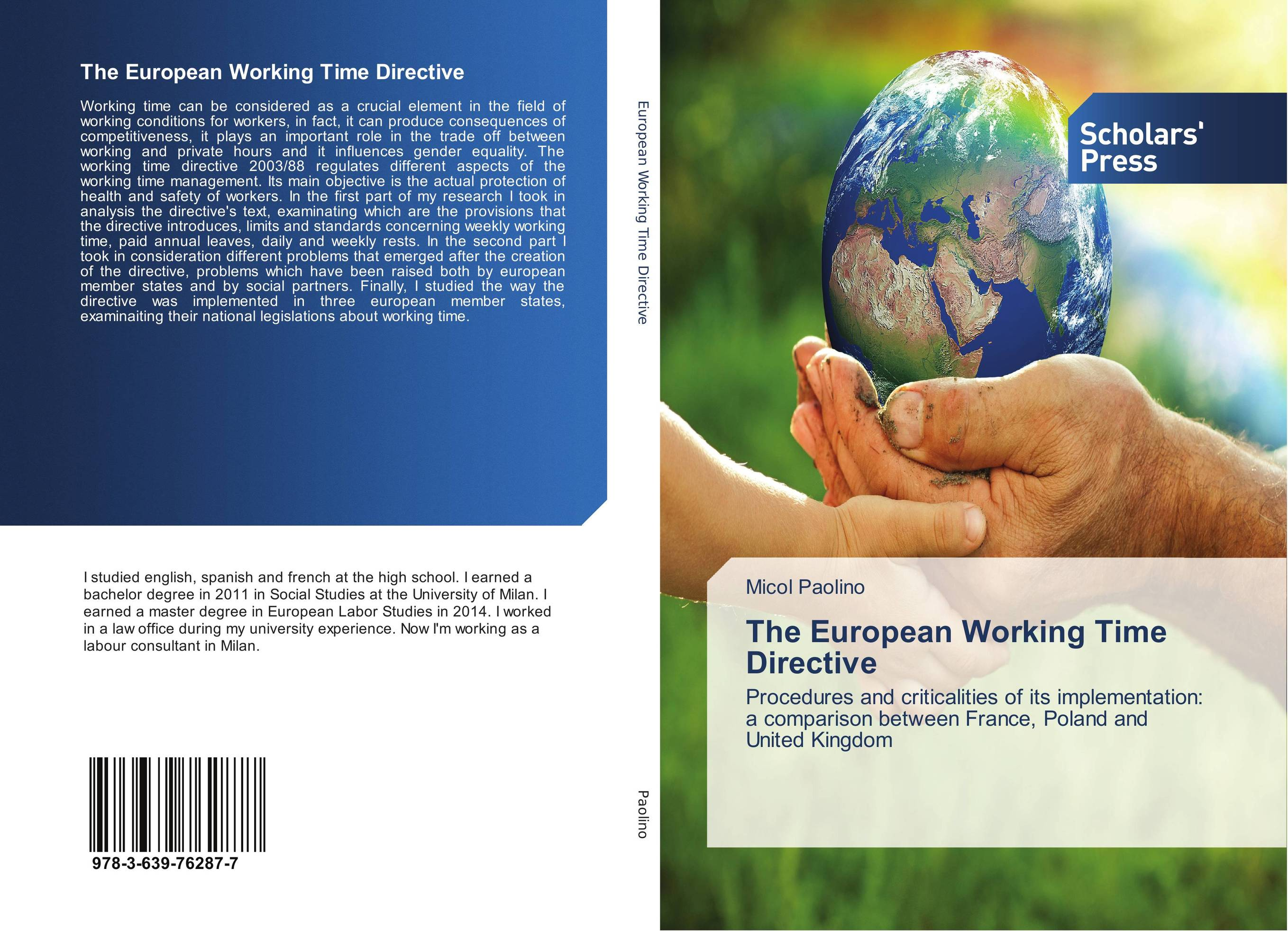 The European Working Time Directive public participation in practice in european water framework directive