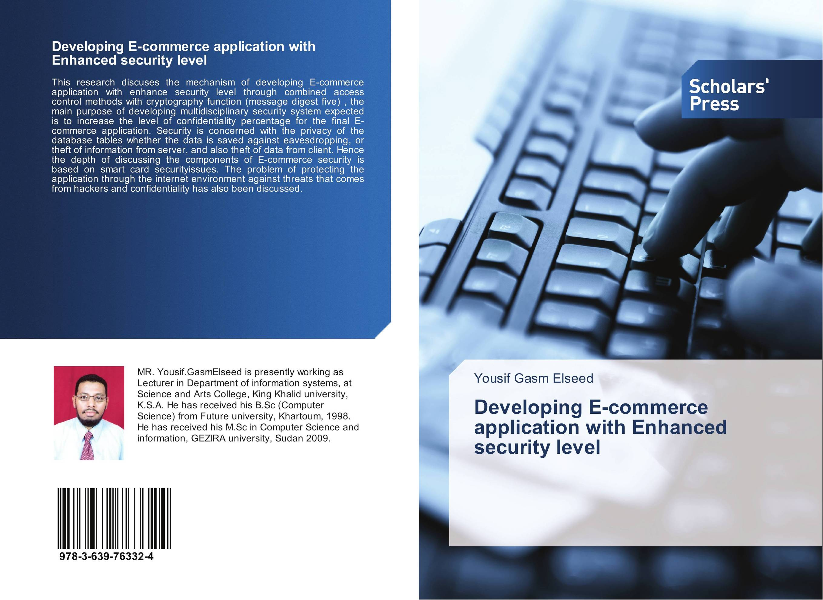 Developing E-commerce application with Enhanced security level e commerce for african immigrant entrepreneurs