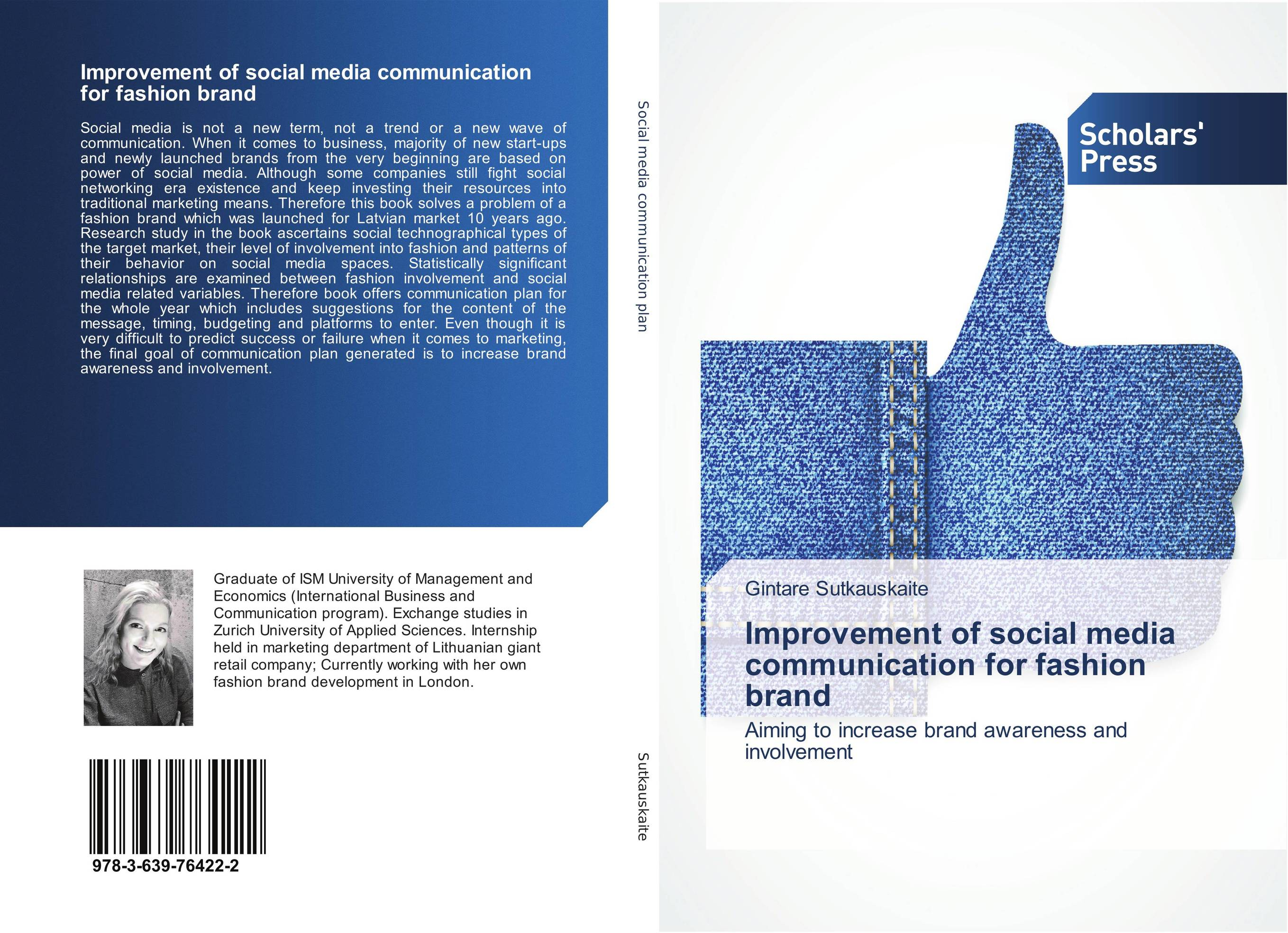 Improvement of social media communication for fashion brand