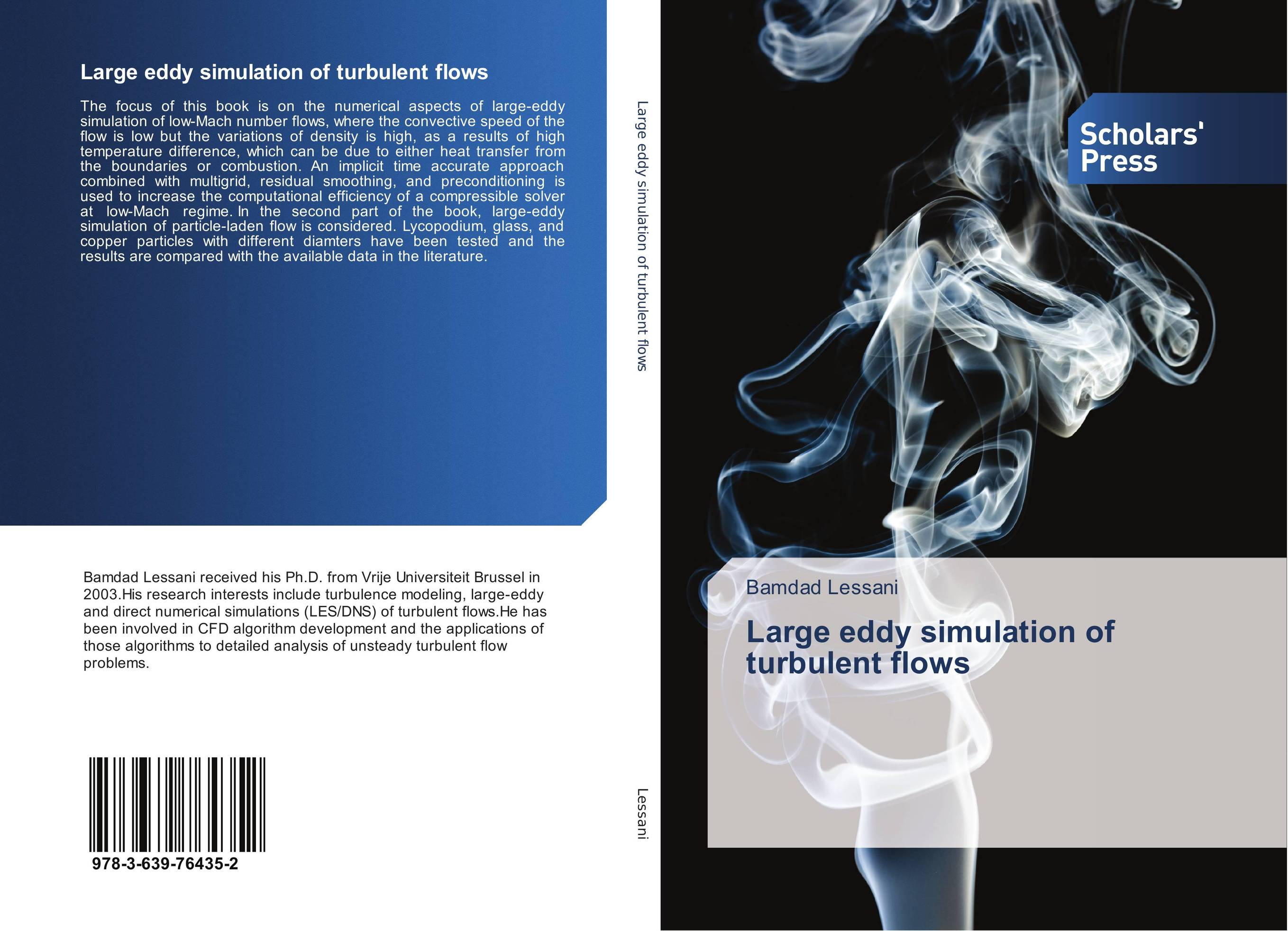 Large eddy simulation of turbulent flows turbulent free jet particle laden flows