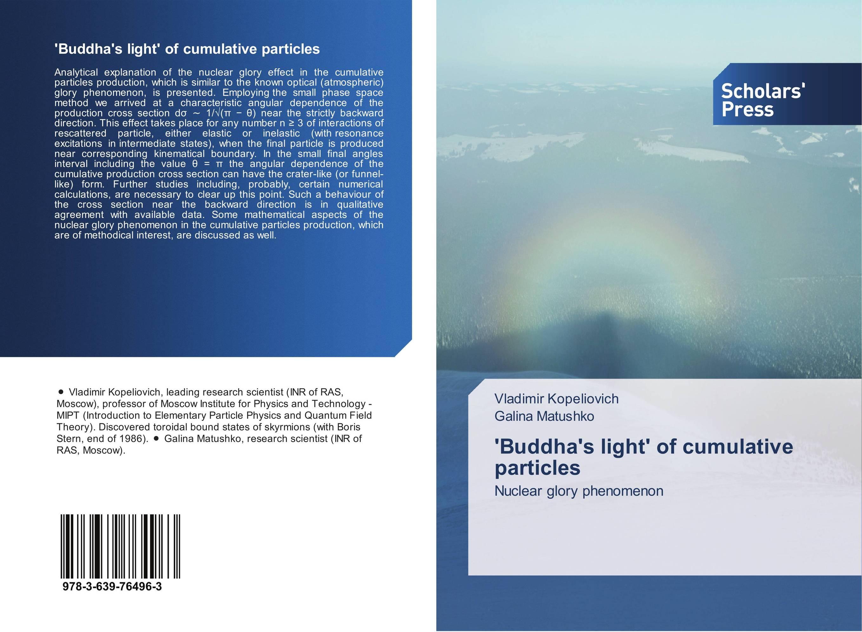 'Buddha's light' of cumulative particles