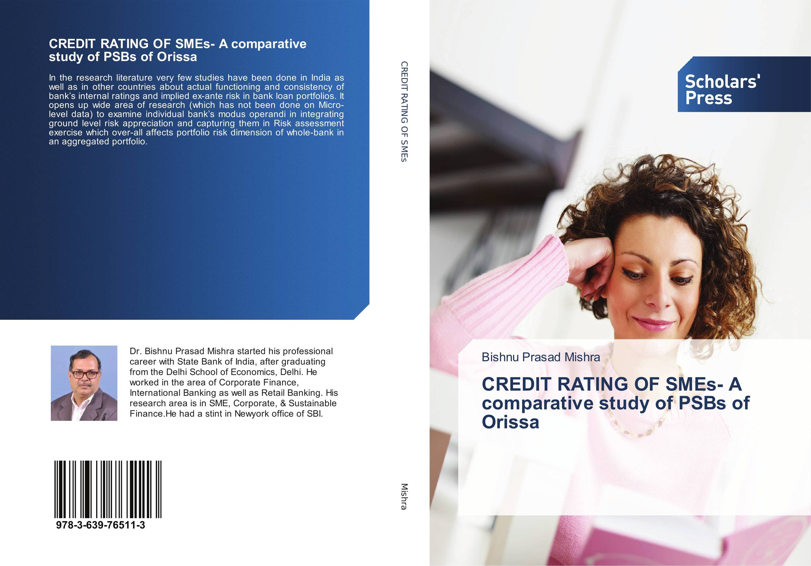 CREDIT RATING OF SMEs- A comparative study of PSBs of Orissa
